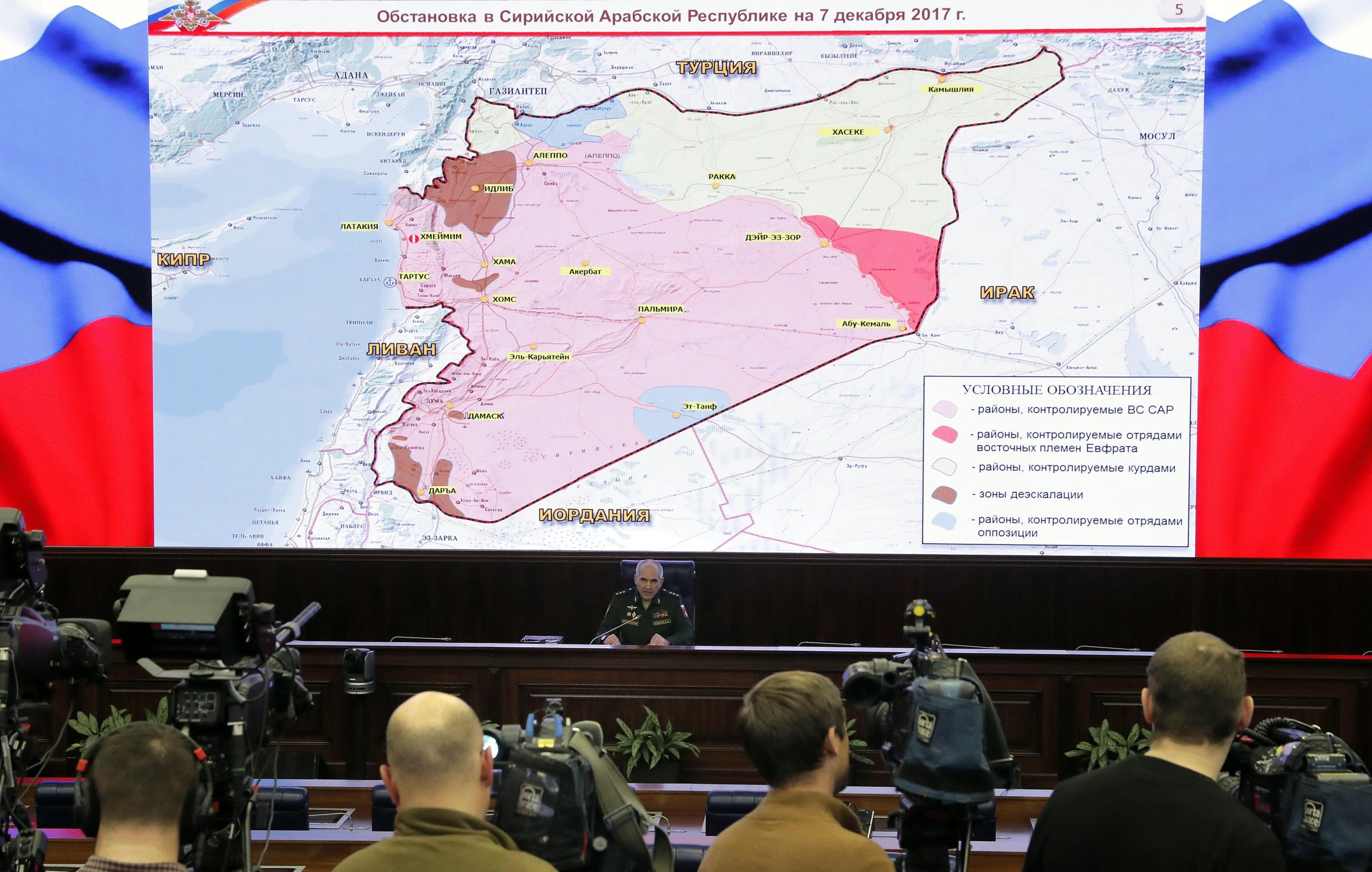 Mosca, 'in Siria Isis sconfitto'