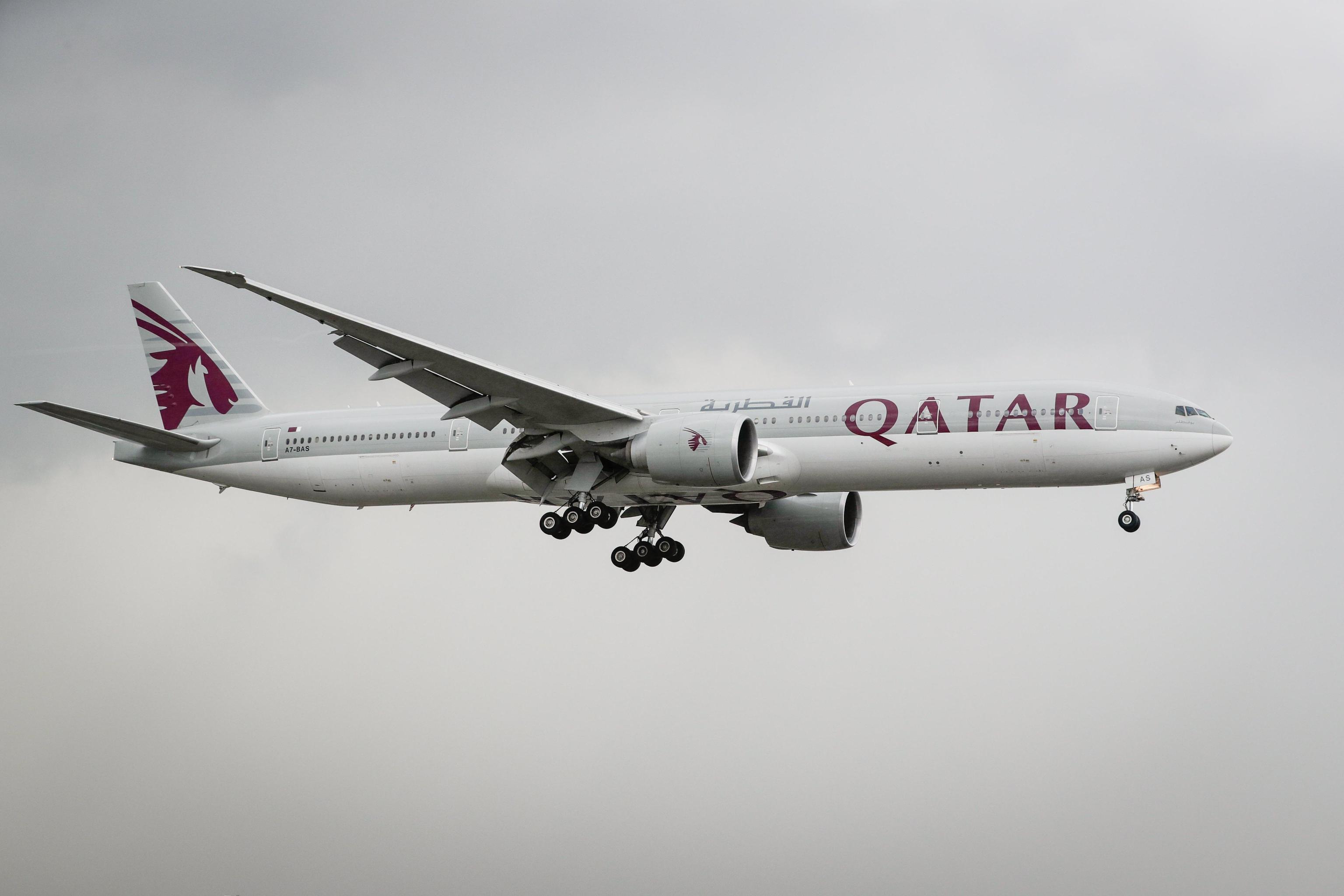 Qatar Airways sospende voli per l'Egitto