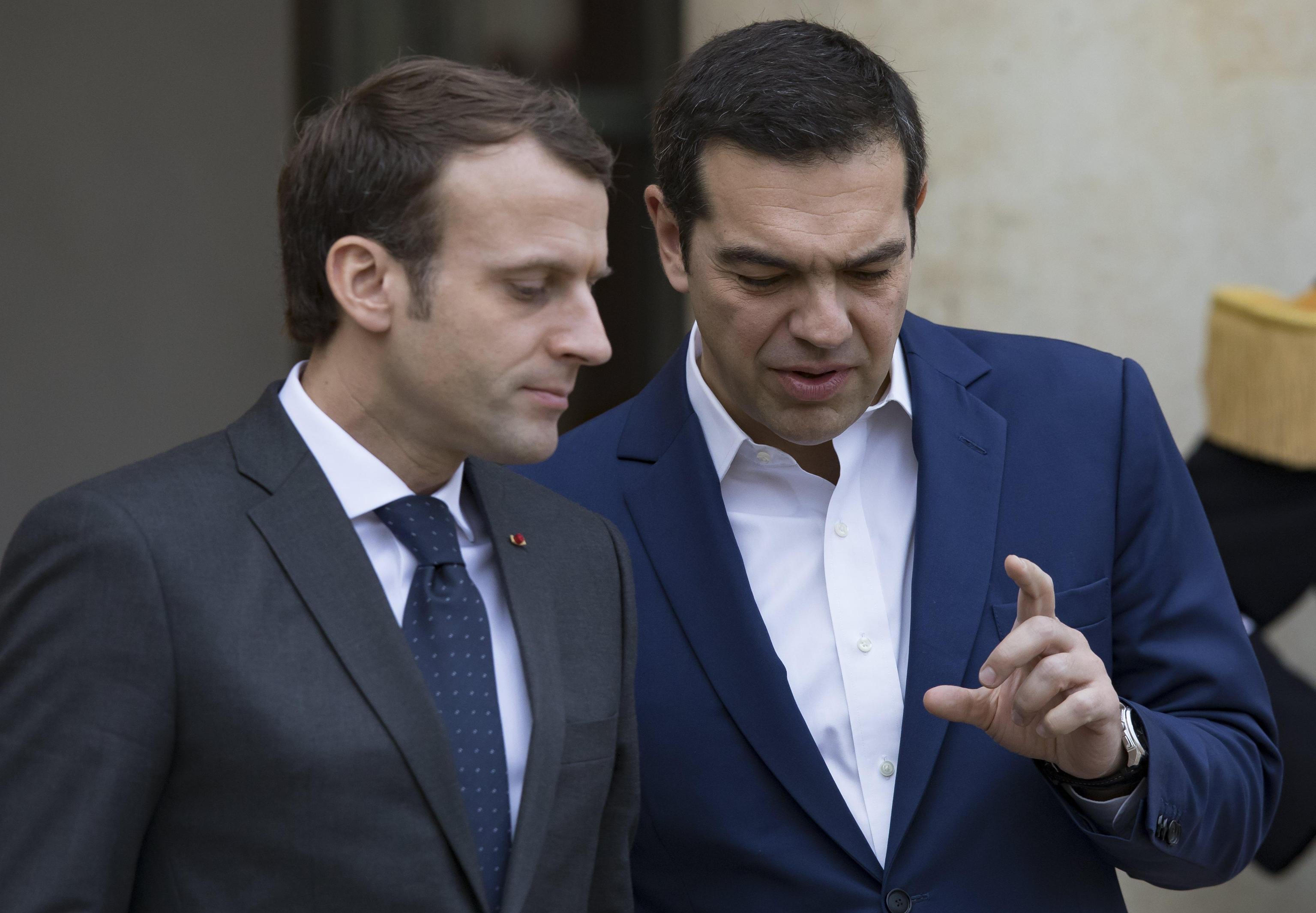 Da Macron e Tsipras pressione su Schulz
