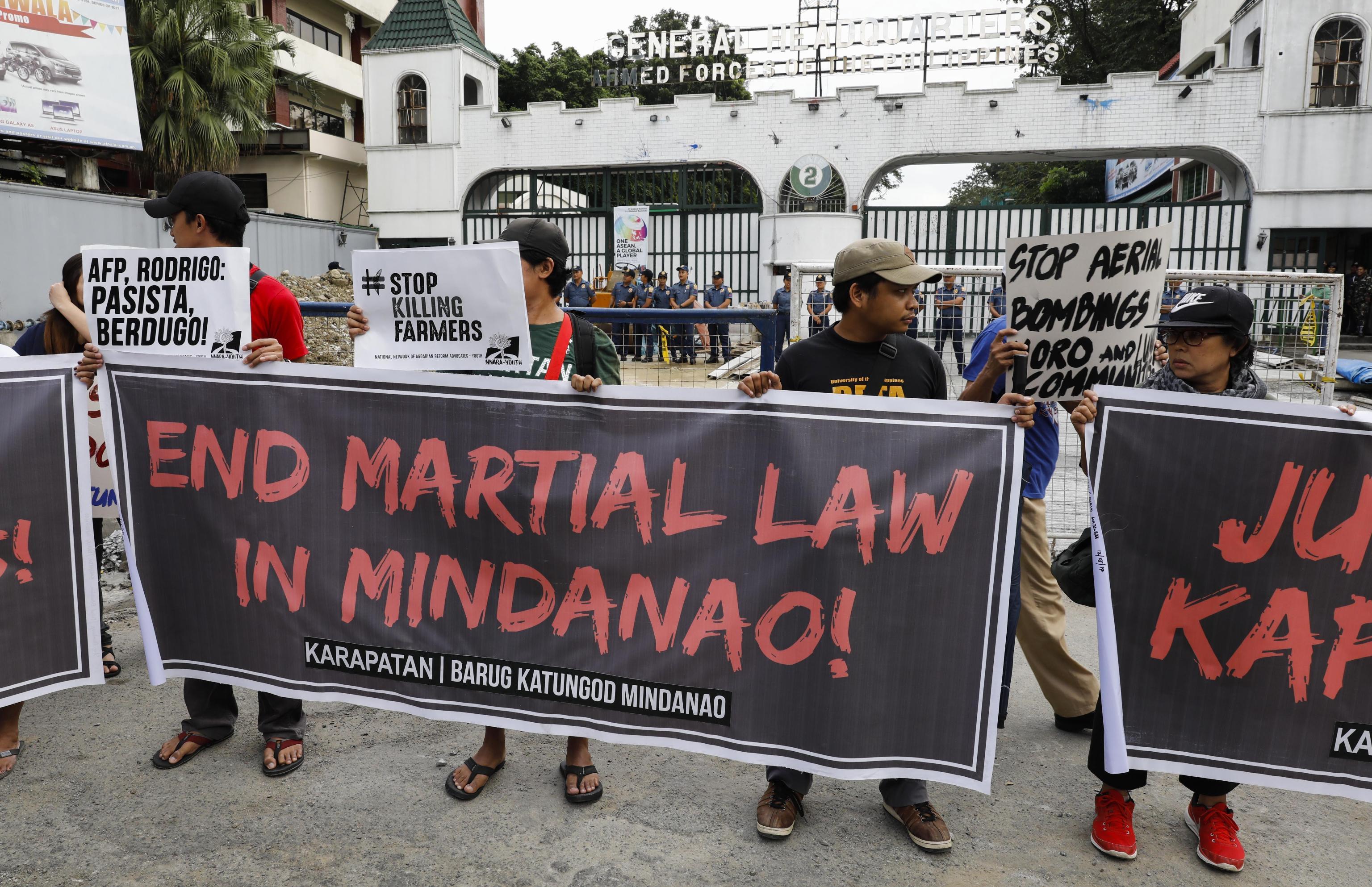Filippine, ok legge marziale al sud