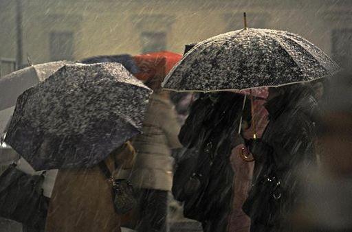 Allerta maltempo: in arrivo freddo, piogge e vento forte
