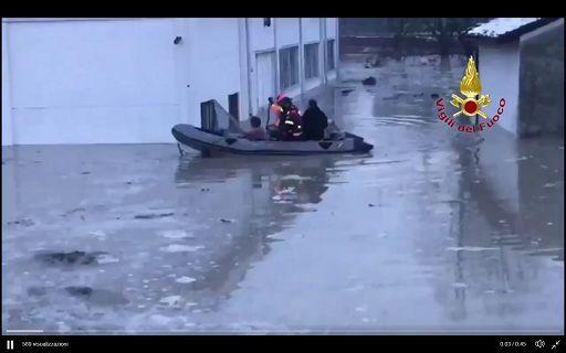 Emergenza esondazioni nel parmense e modenese (evacuati abitanti)
