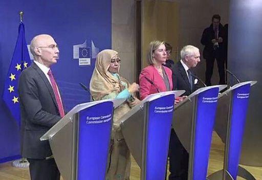 Mogherini dice che saranno 30mila i rimpatri dalla Libia entro febbraio