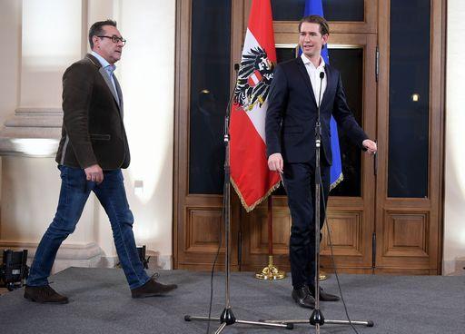Austria, Kurz e Strache presentano intesa governo al presidente