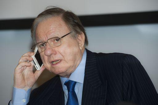 L'ex ministro Altero Matteoli è morto in un incidente sull'Aurelia