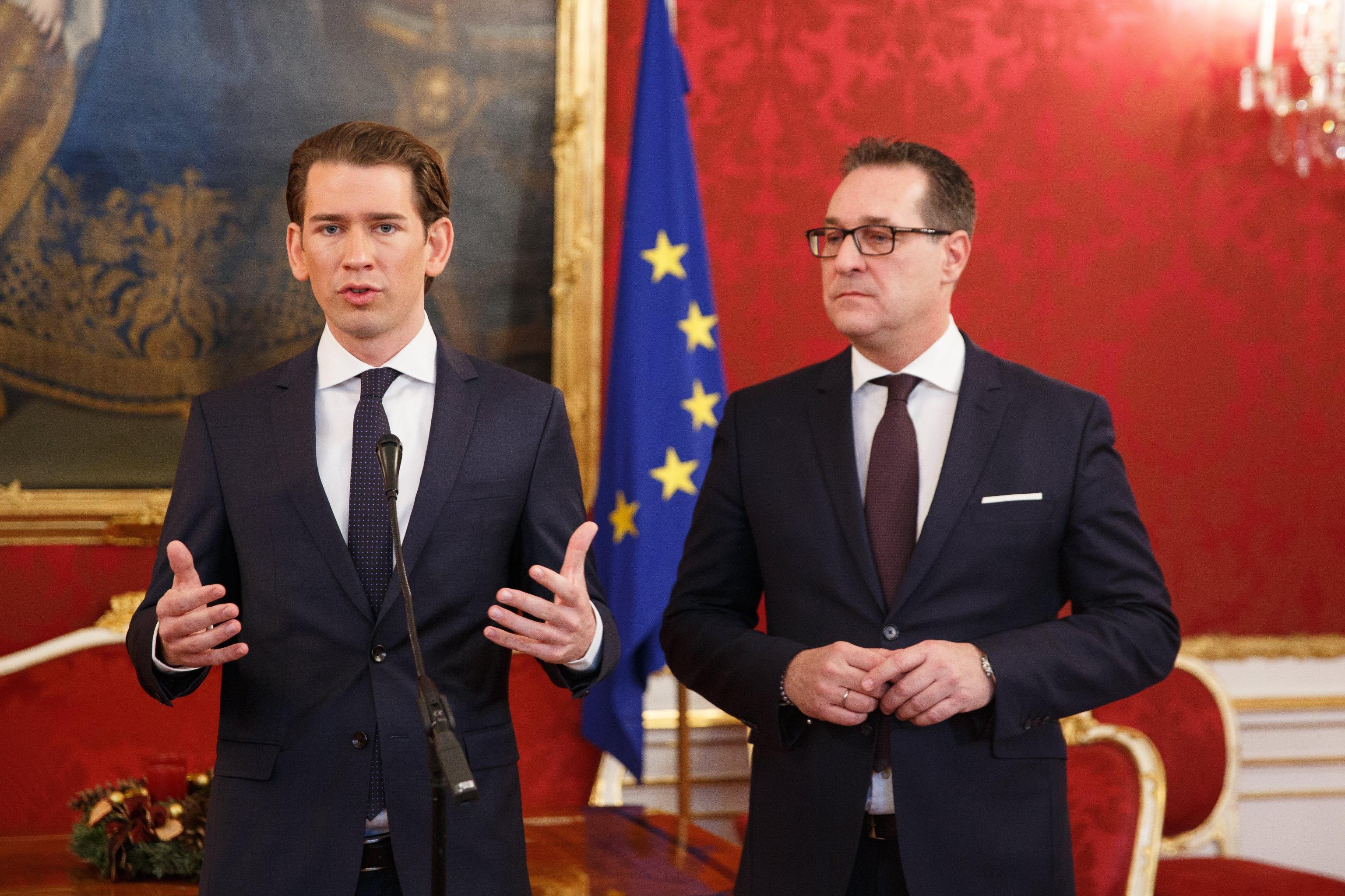 Austria: Esteri, Interni e Difesa a Fpoe