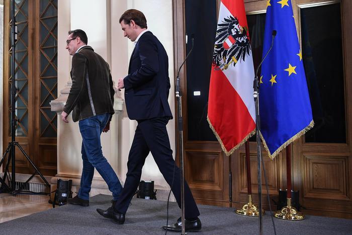 C'è un accordo di governo in Austria, virata a destra