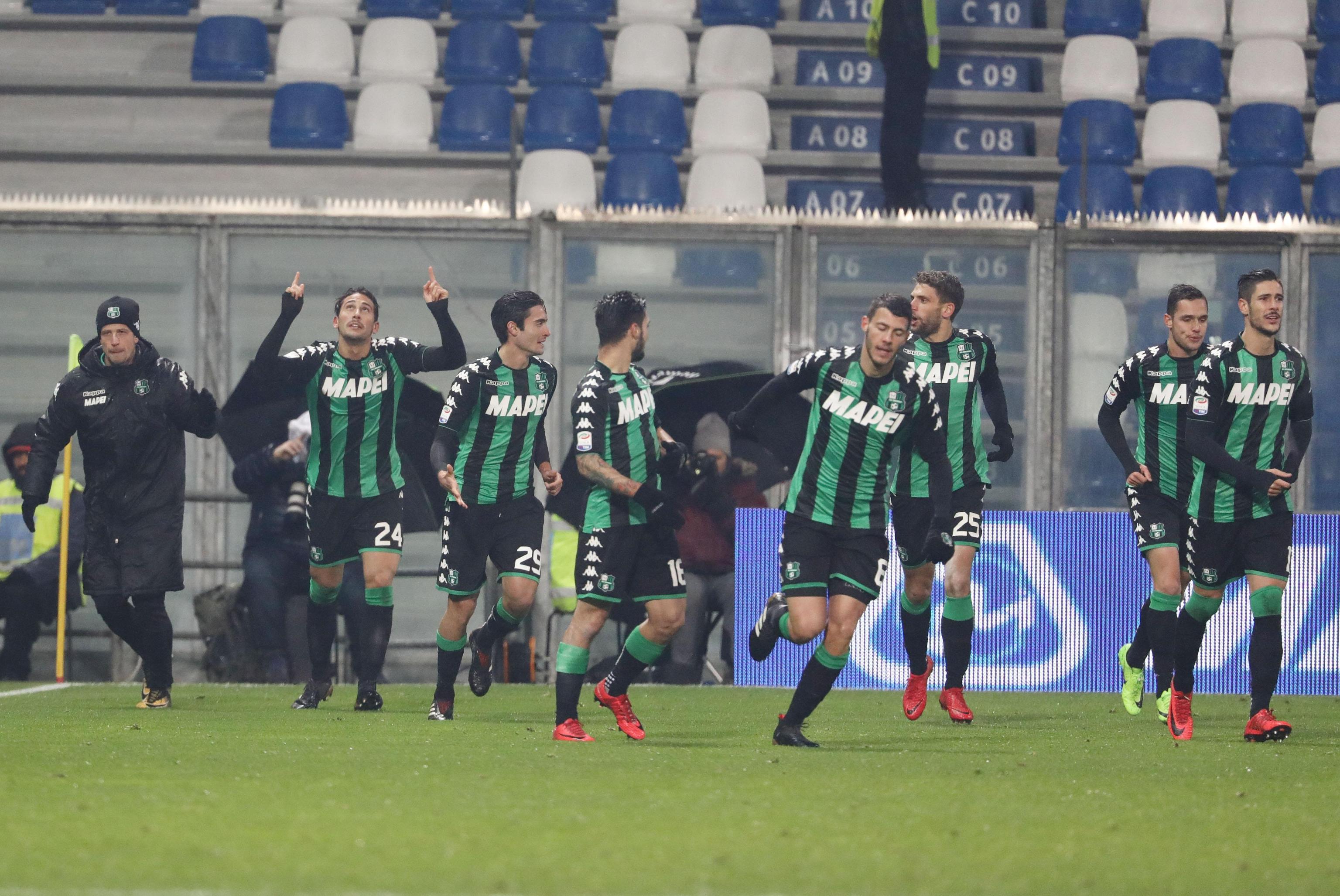 Serie A: Sassuolo-Crotone 2-1