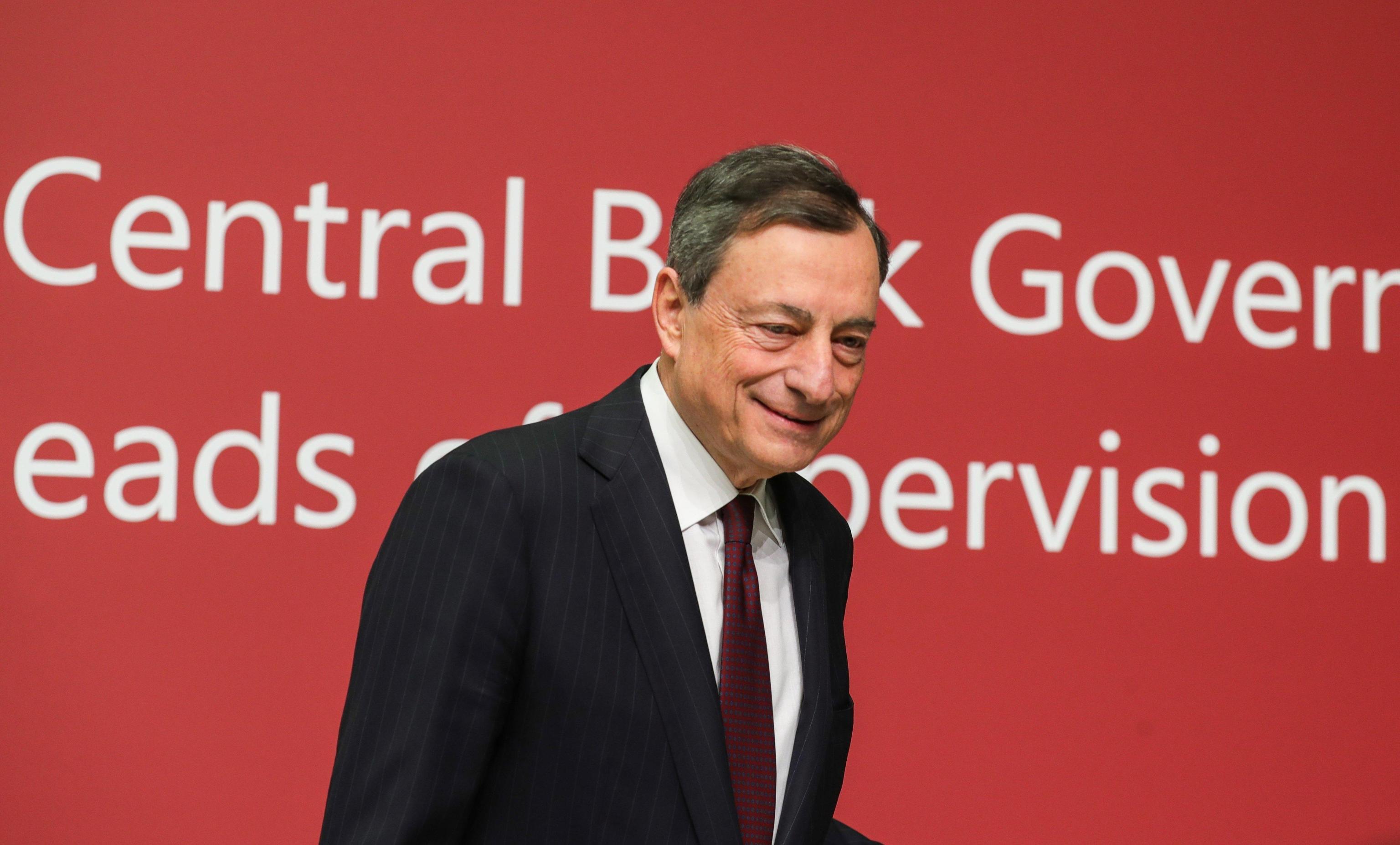 Draghi,no accordo titoli stato in banche