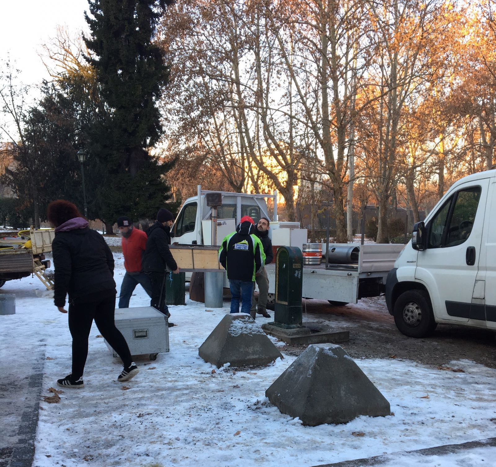 Torino, la Digos sgombera il Fenix
