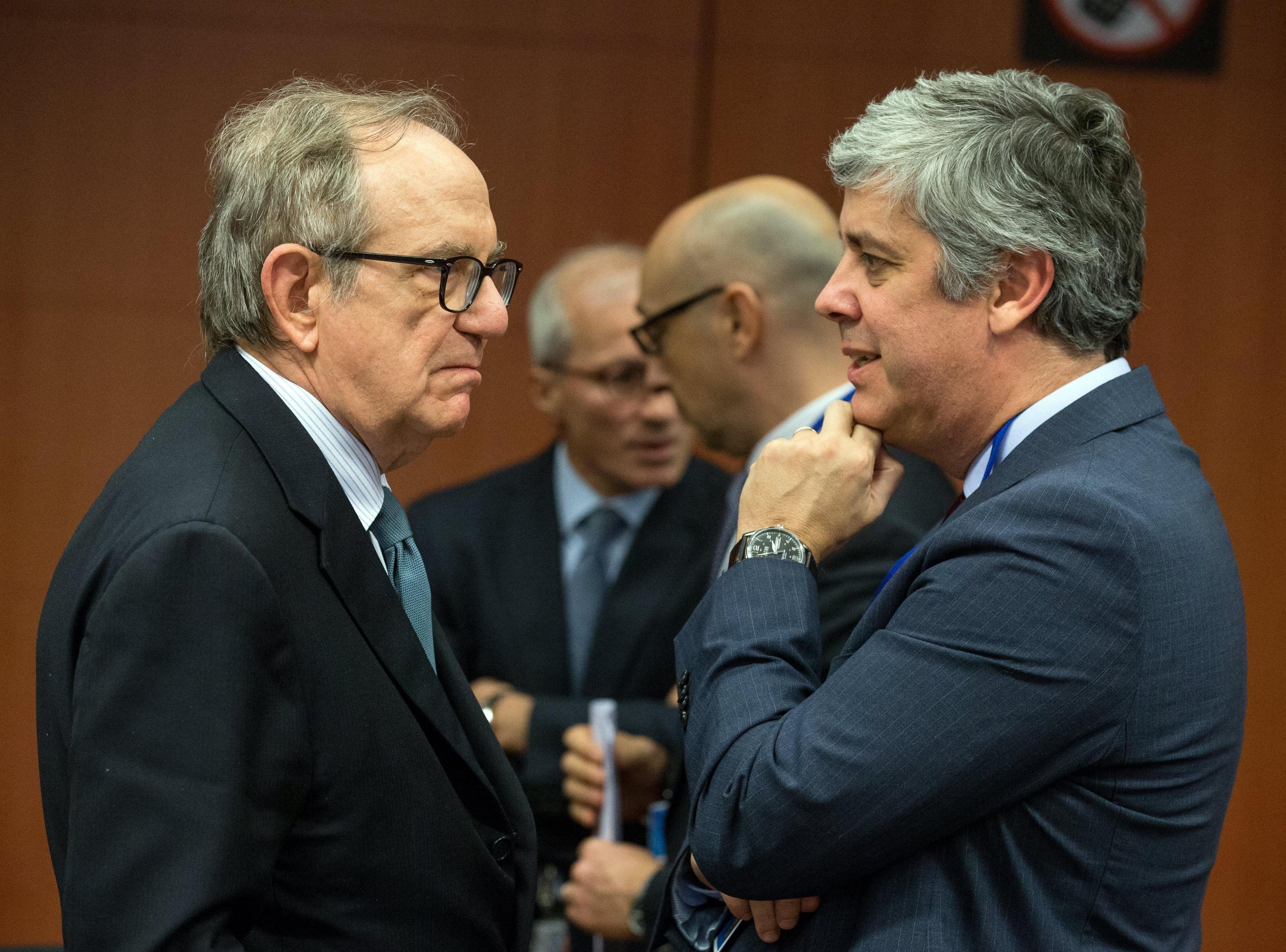 Padoan,appoggio a Centeno per eurogruppo
