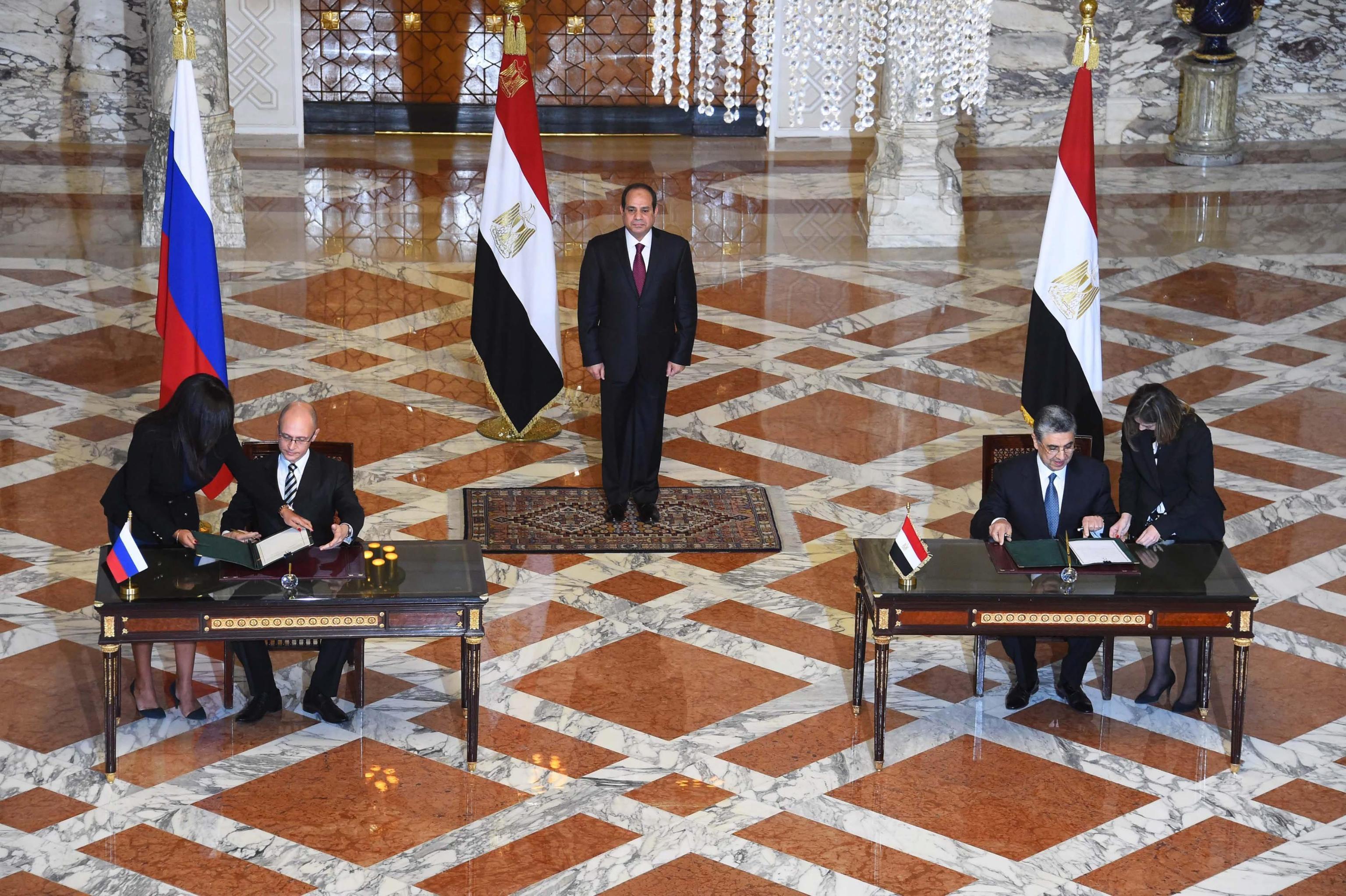 Egitto-Russia: centrale atomica, accordo