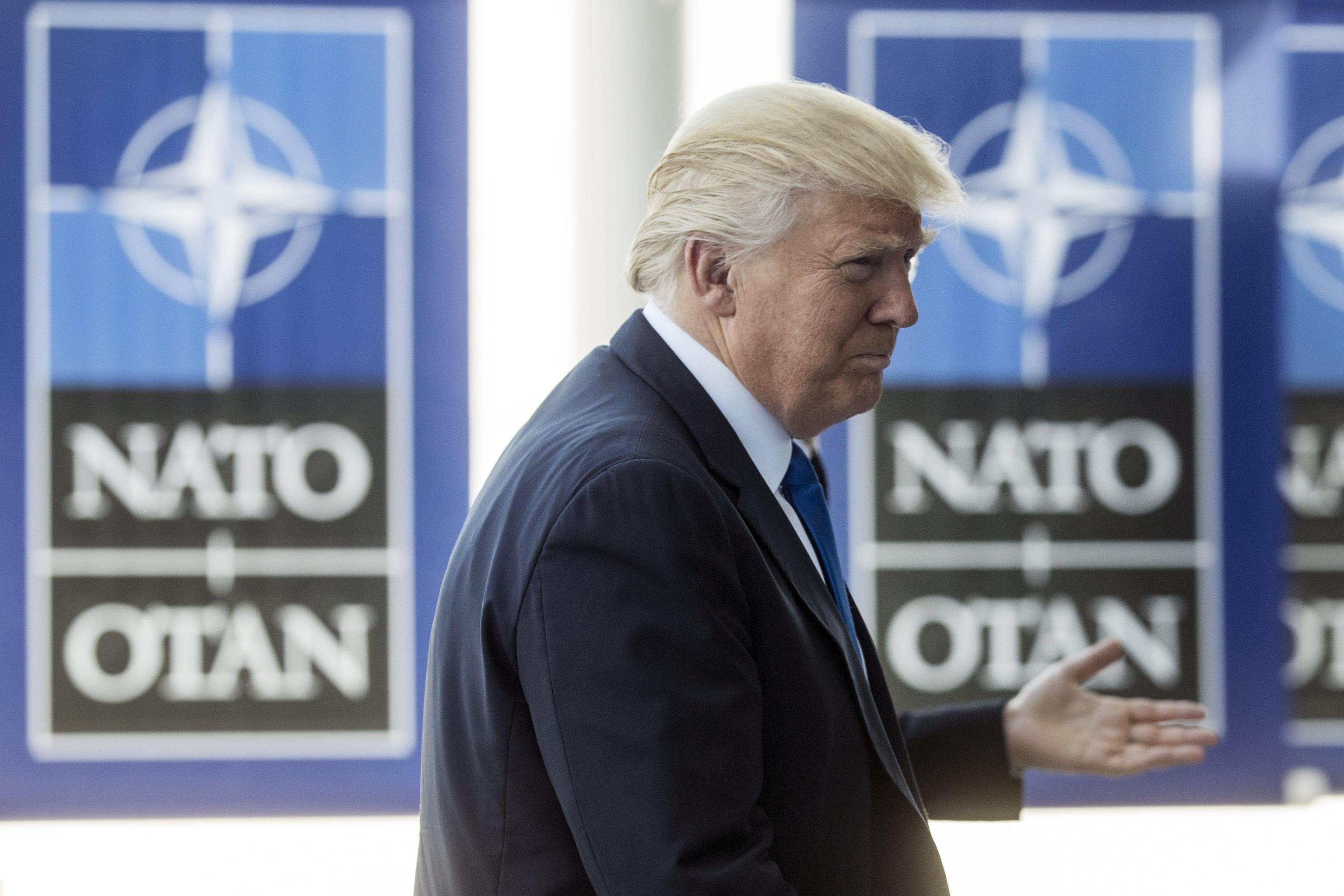 Trump, alleati Nato devono dare di più