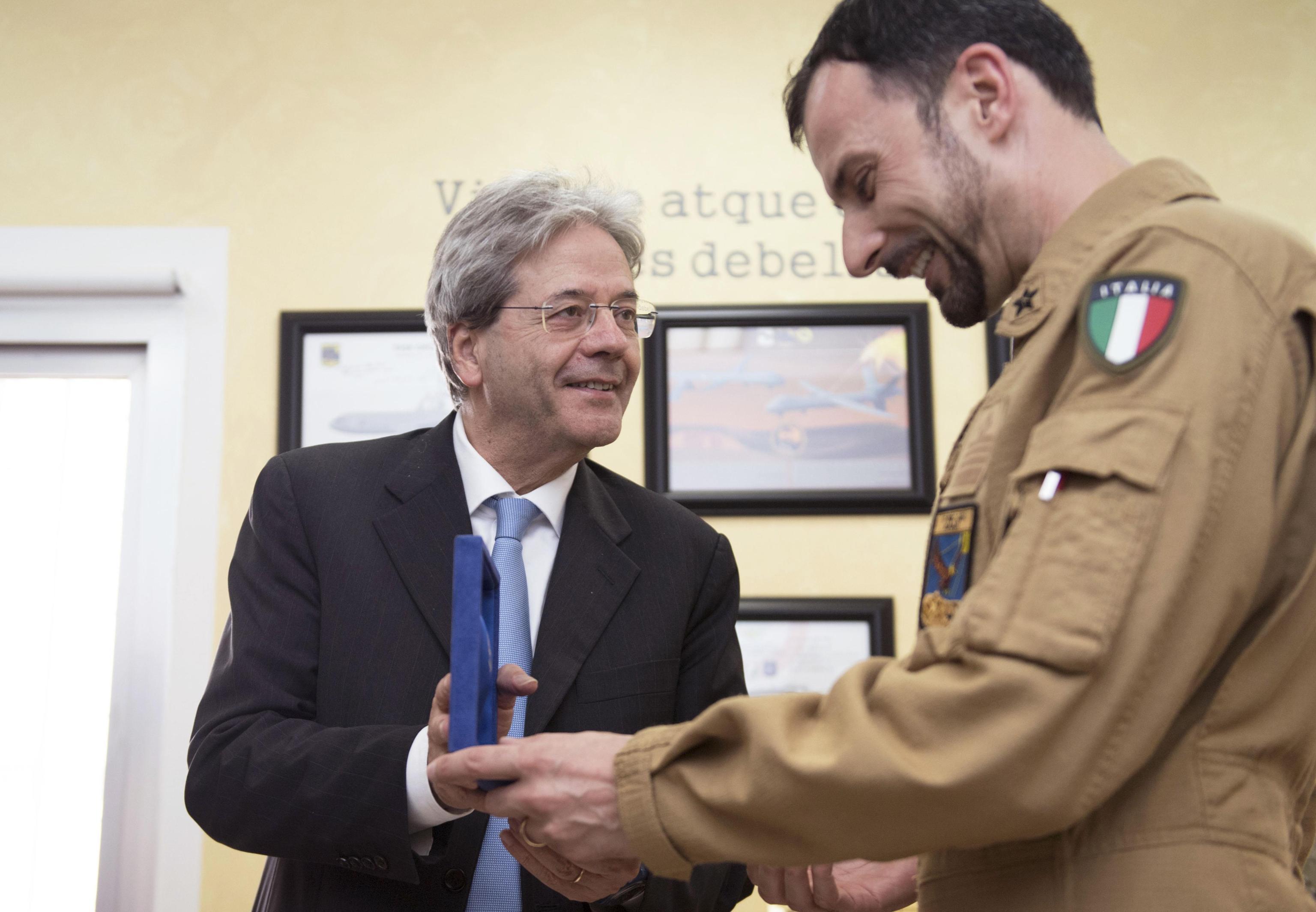 Gentiloni,ruolo Italia in sconfitta Isis