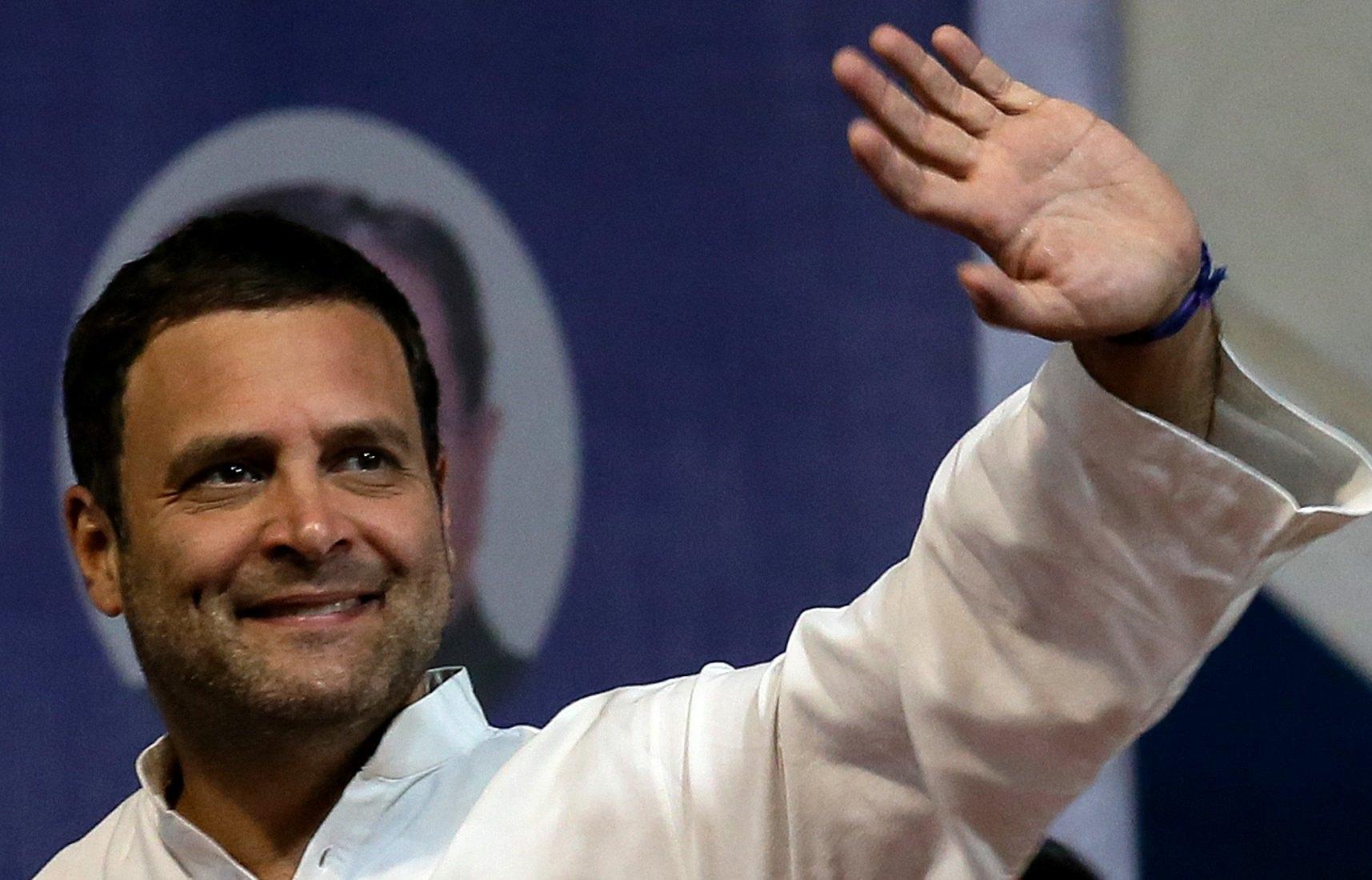 Rahul Gandhi e' leader partito Congresso