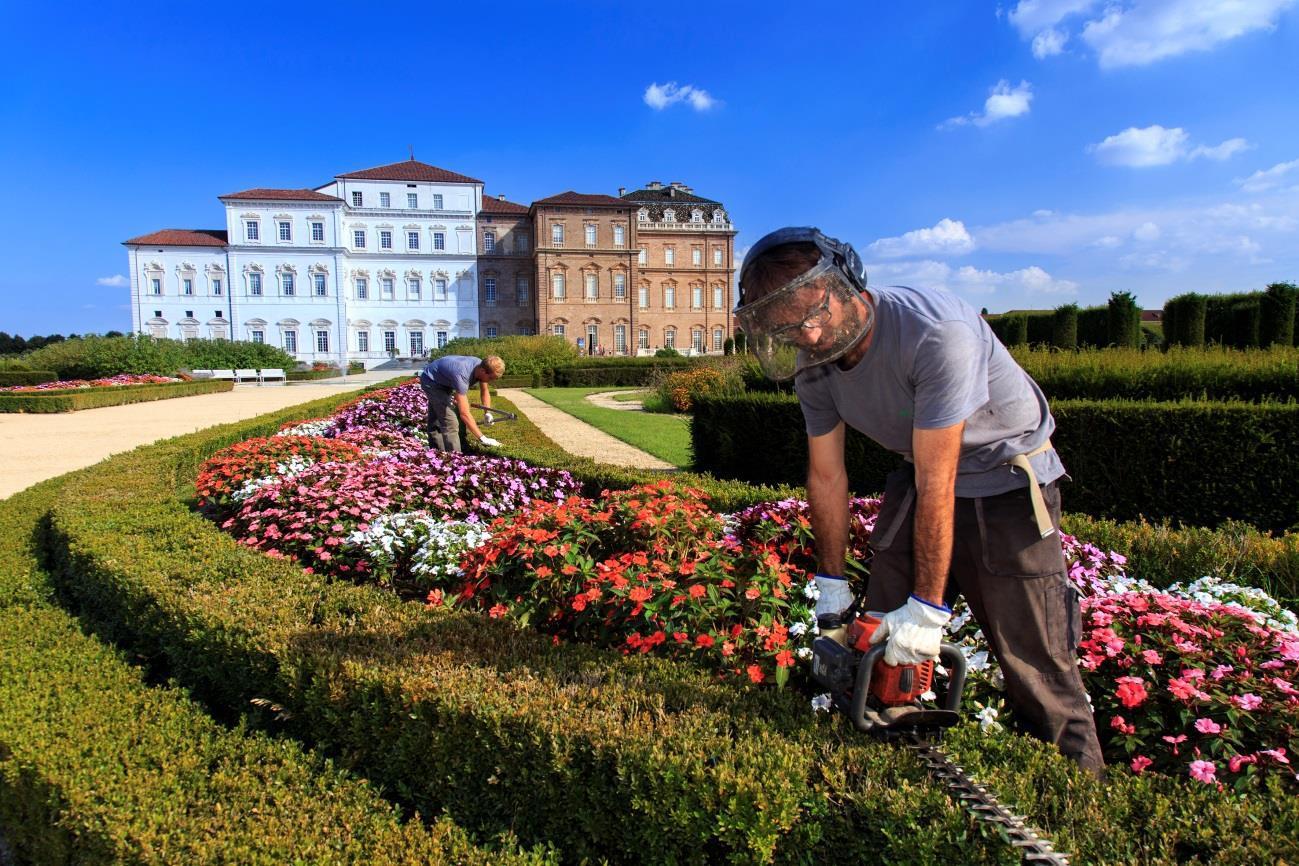 Da Reggia Venaria nasce Giardiniere arte
