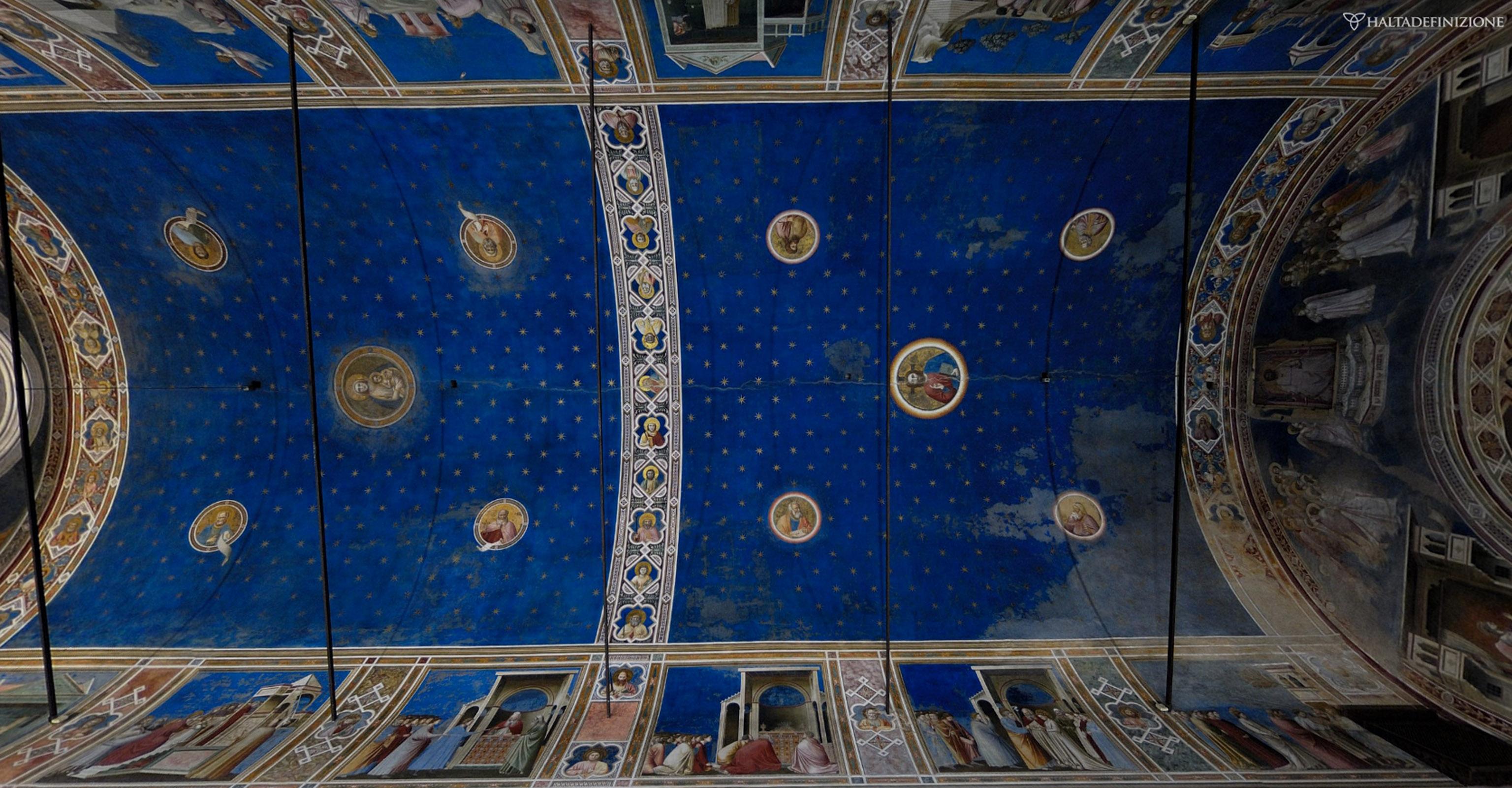 Affreschi Giotto Padova,condizioni buone