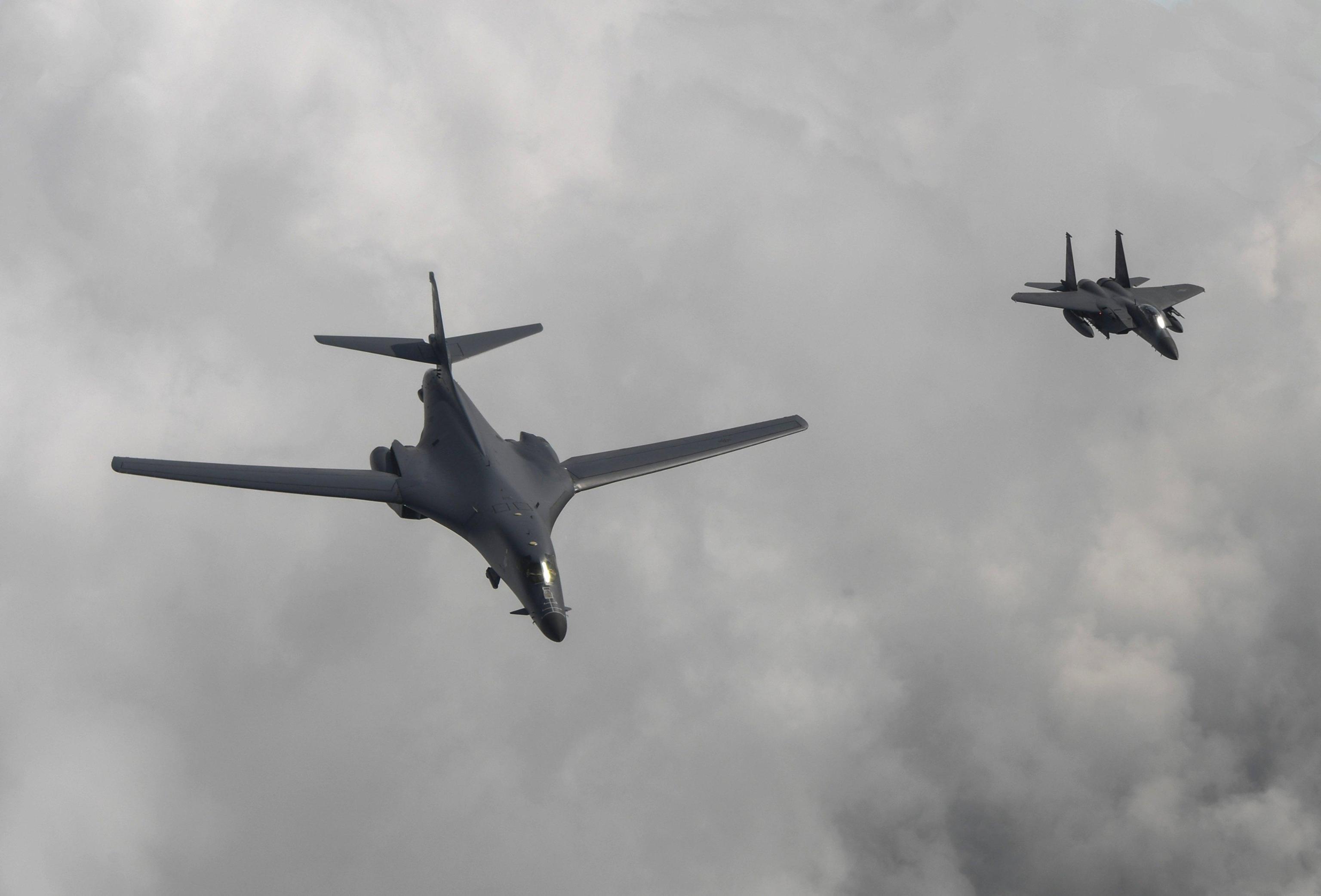 Superbombardiere Usa su penisola coreana