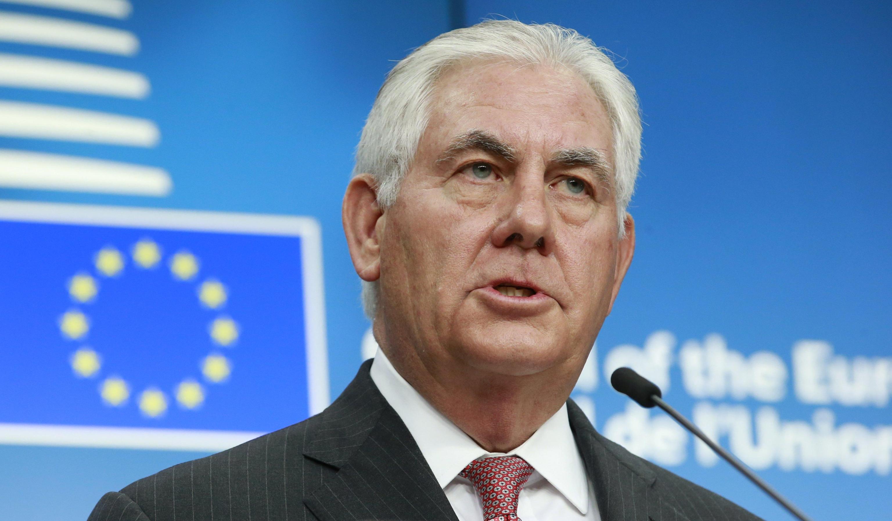 Corea Nord: Tillerson, bene posizione Ue