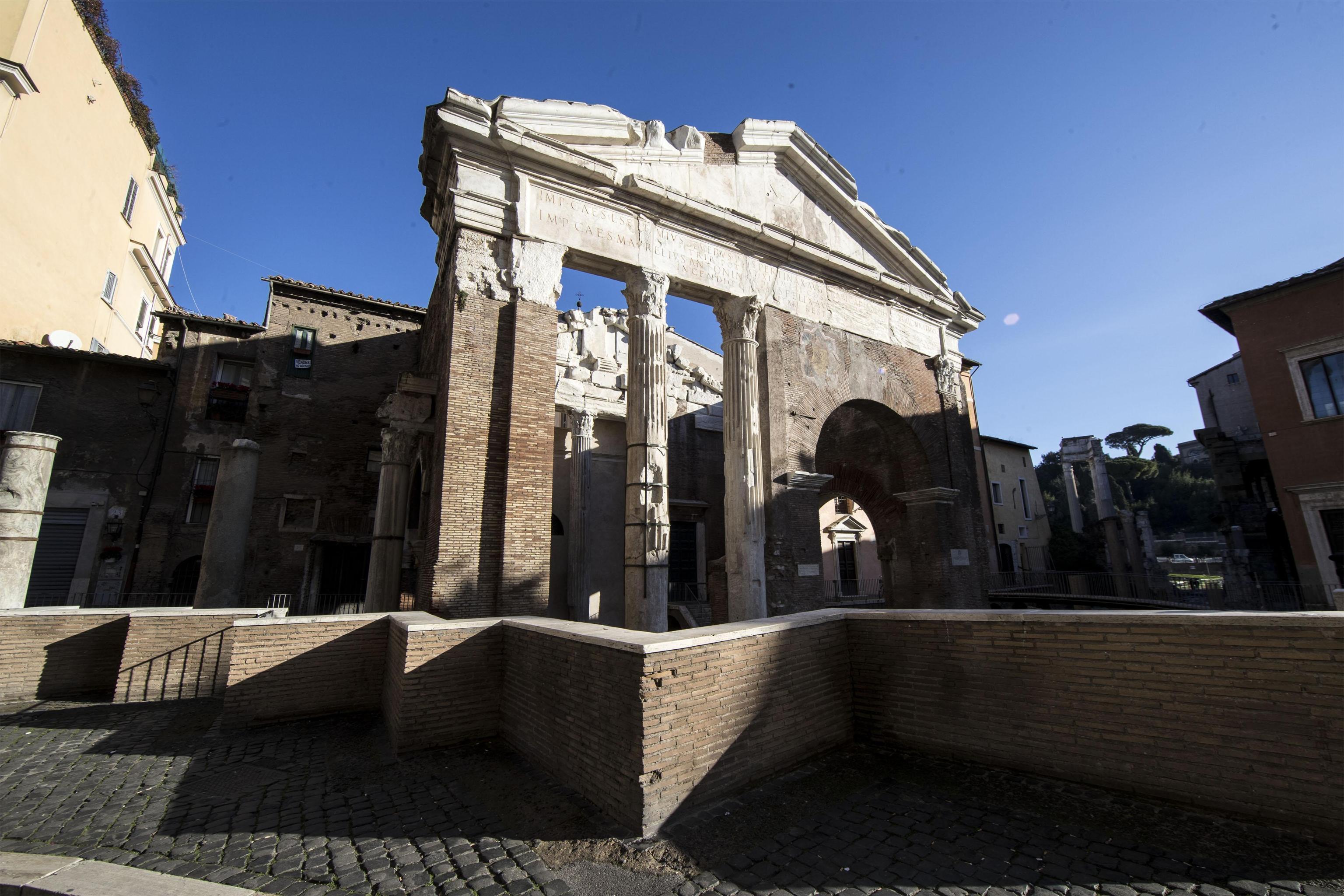 A Roma rinasce il Portico d'Ottavia