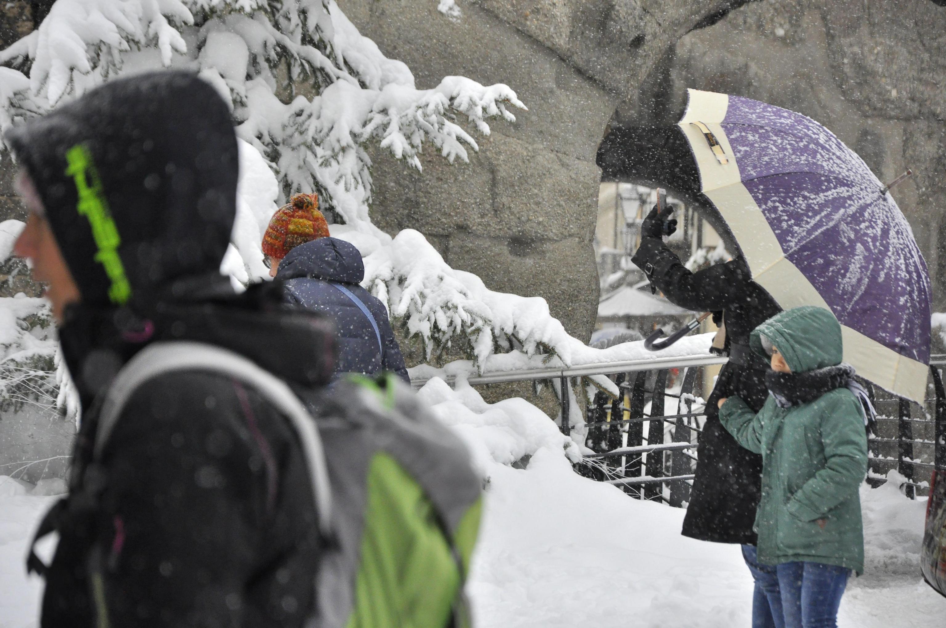 Quasi un metro di neve in Valle d'Aosta