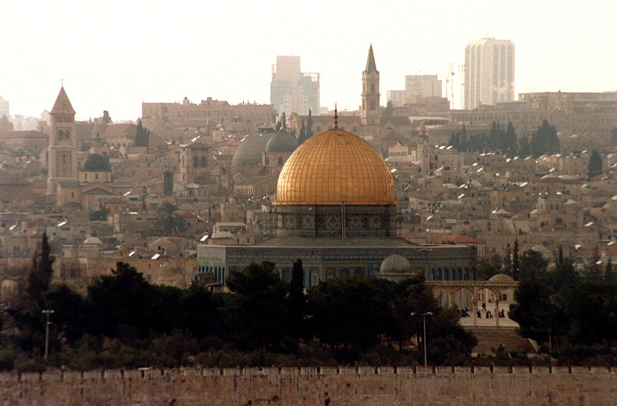 'Gerusalemme est è capitale Palestina'