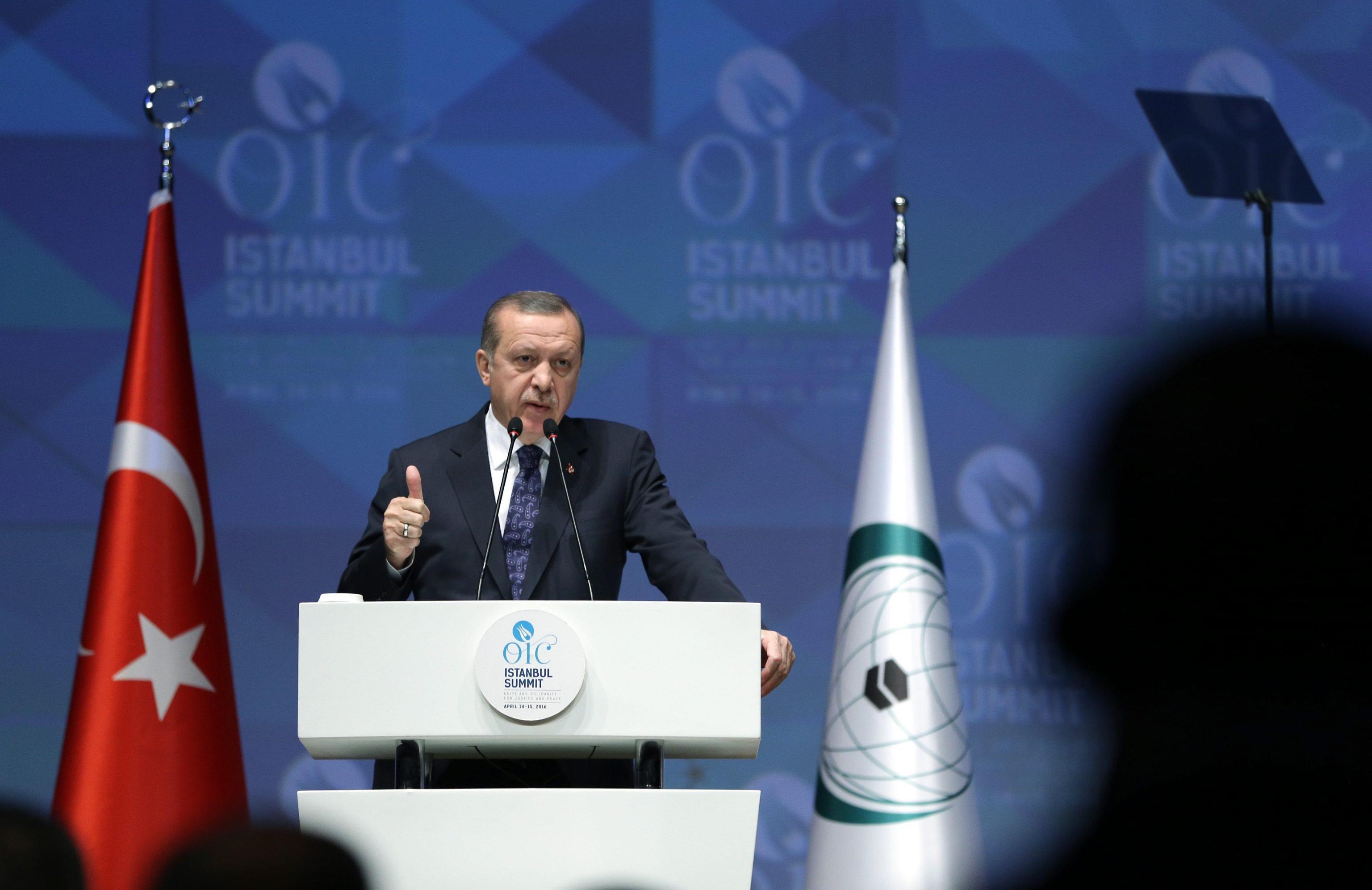 Erdogan, Israele stato terrorista