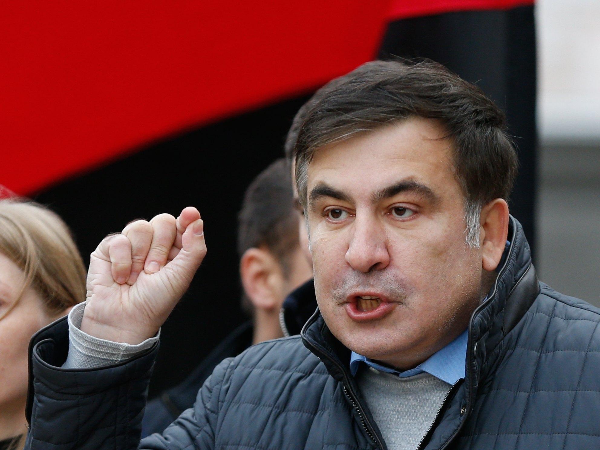 Saakashvili,'Poroshenko ladro,traditore'