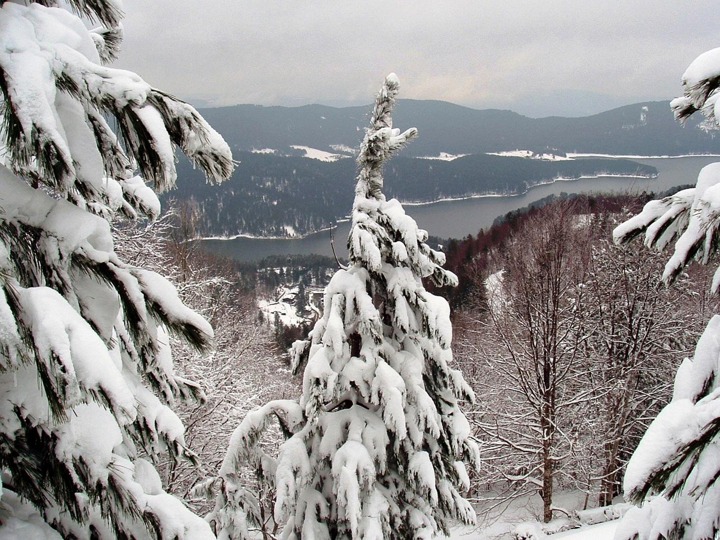 Neve su monti Calabria,calo temperature
