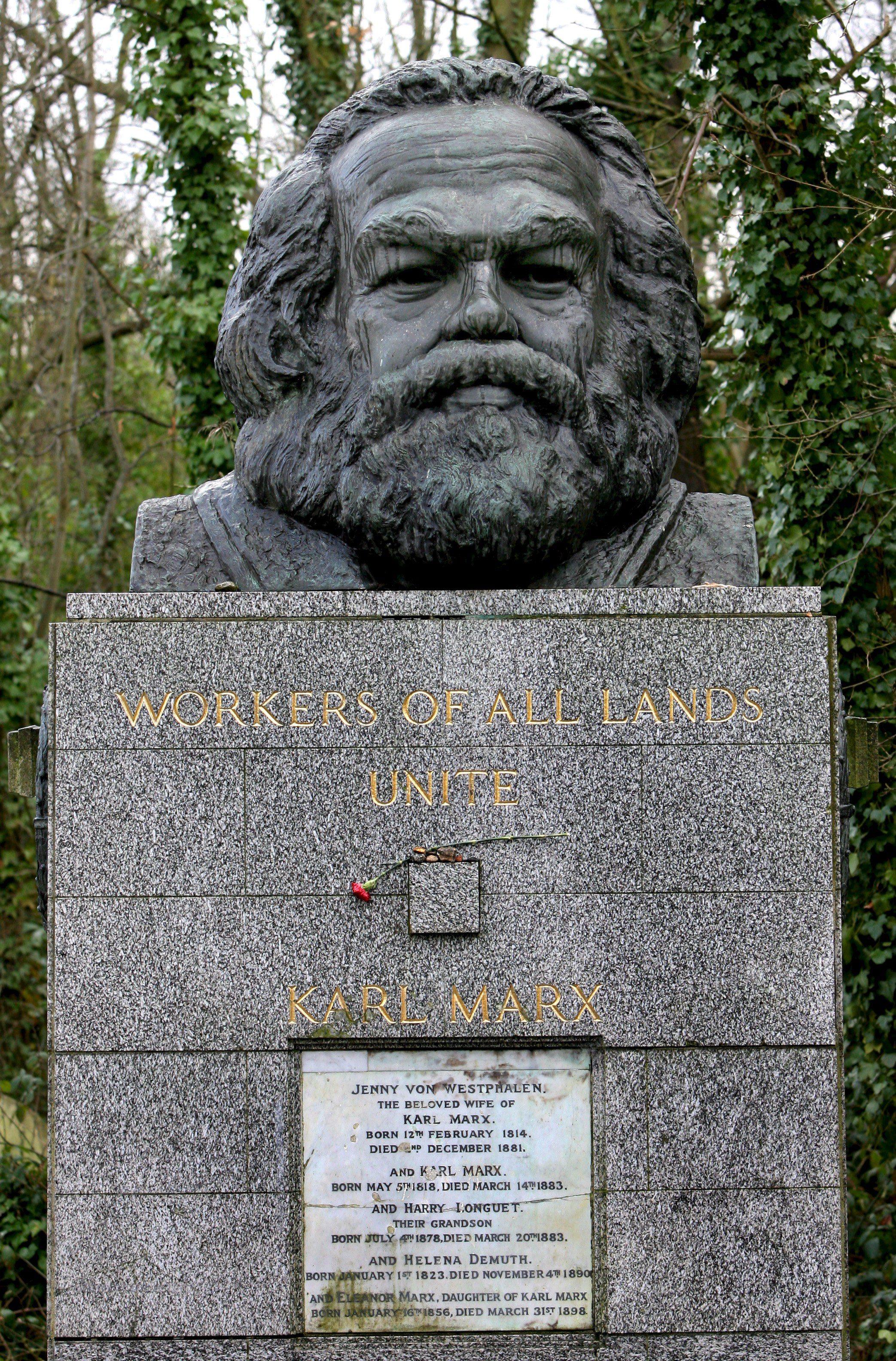 Gb: revival Marx, 'restauriamo la tomba'
