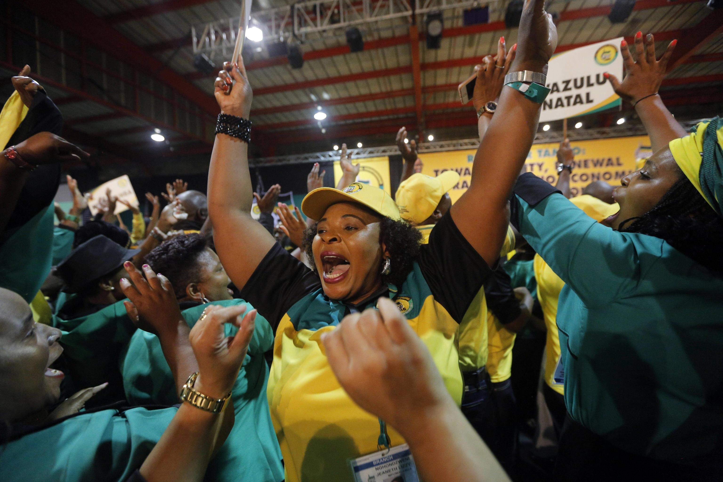 Sudafrica:Anc pensa a successore di Zuma