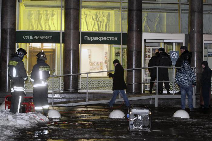 Esplosione in un supermercato, a S. Pietroburgo, 'è terrorismo'