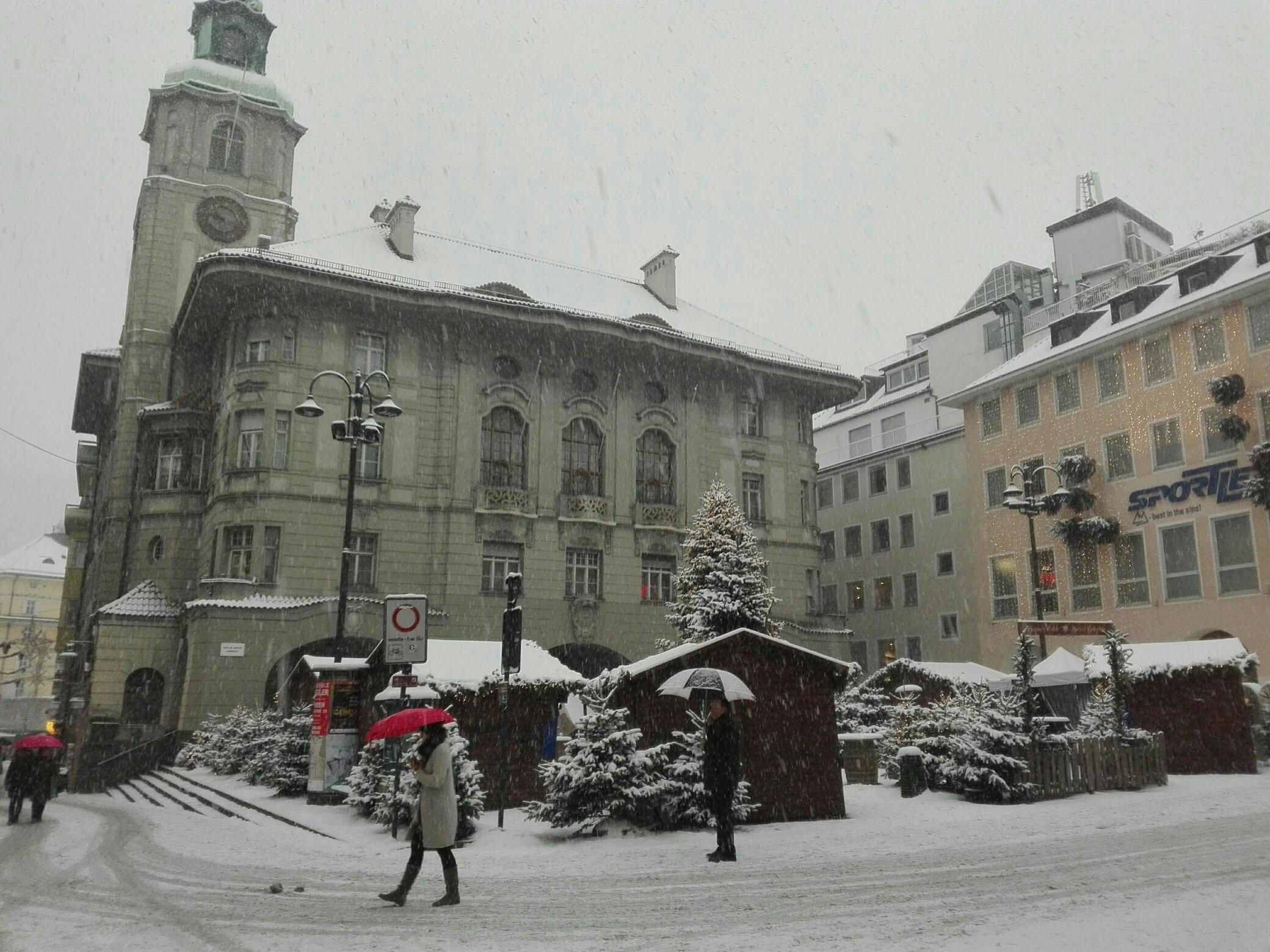 Neve in tutto l'Alto Adige