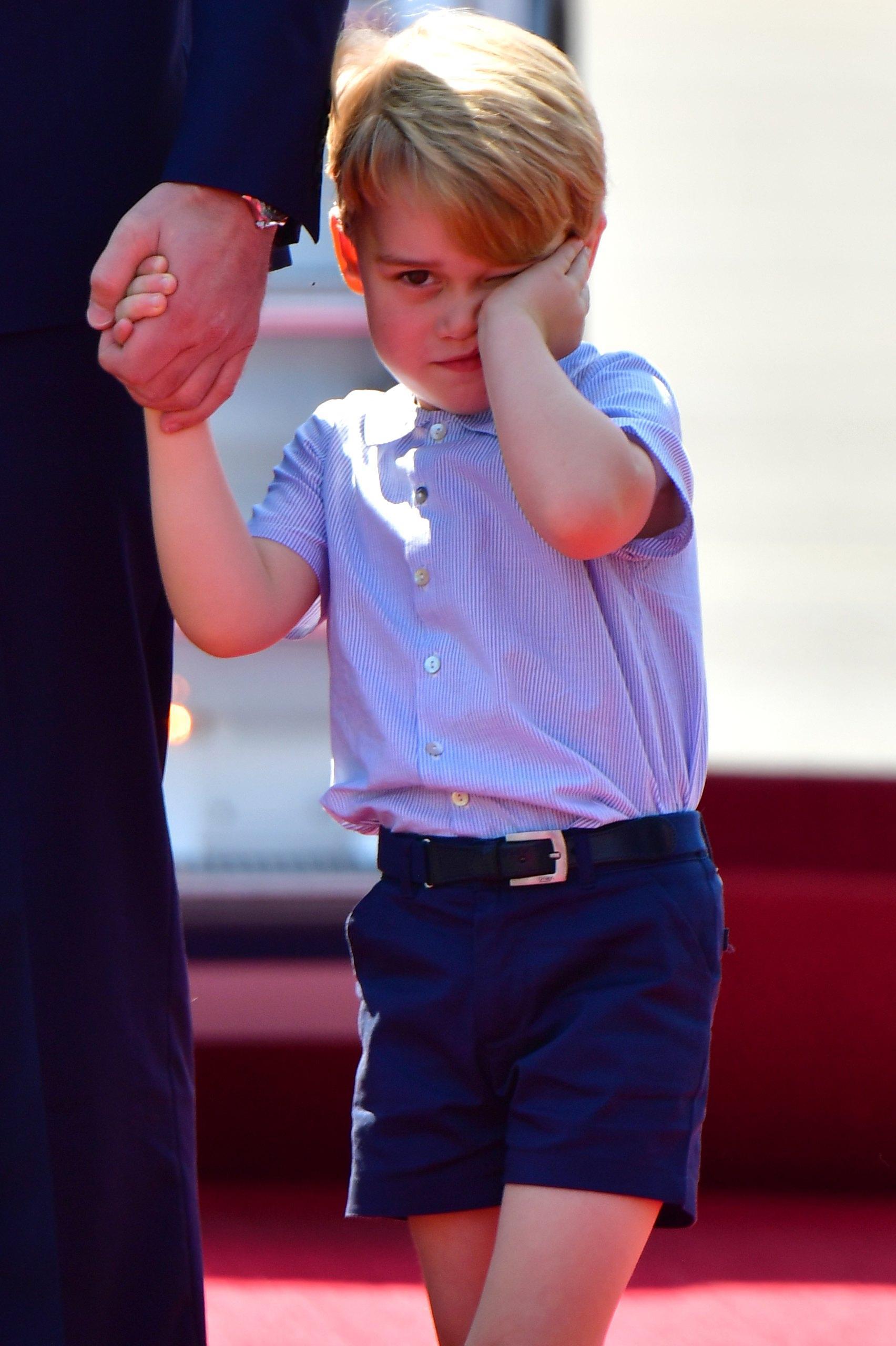 Gb: sospetti minacce a principe George