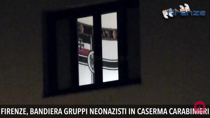 Bandiera neonazisti in caserma Procuratore militare, indagine