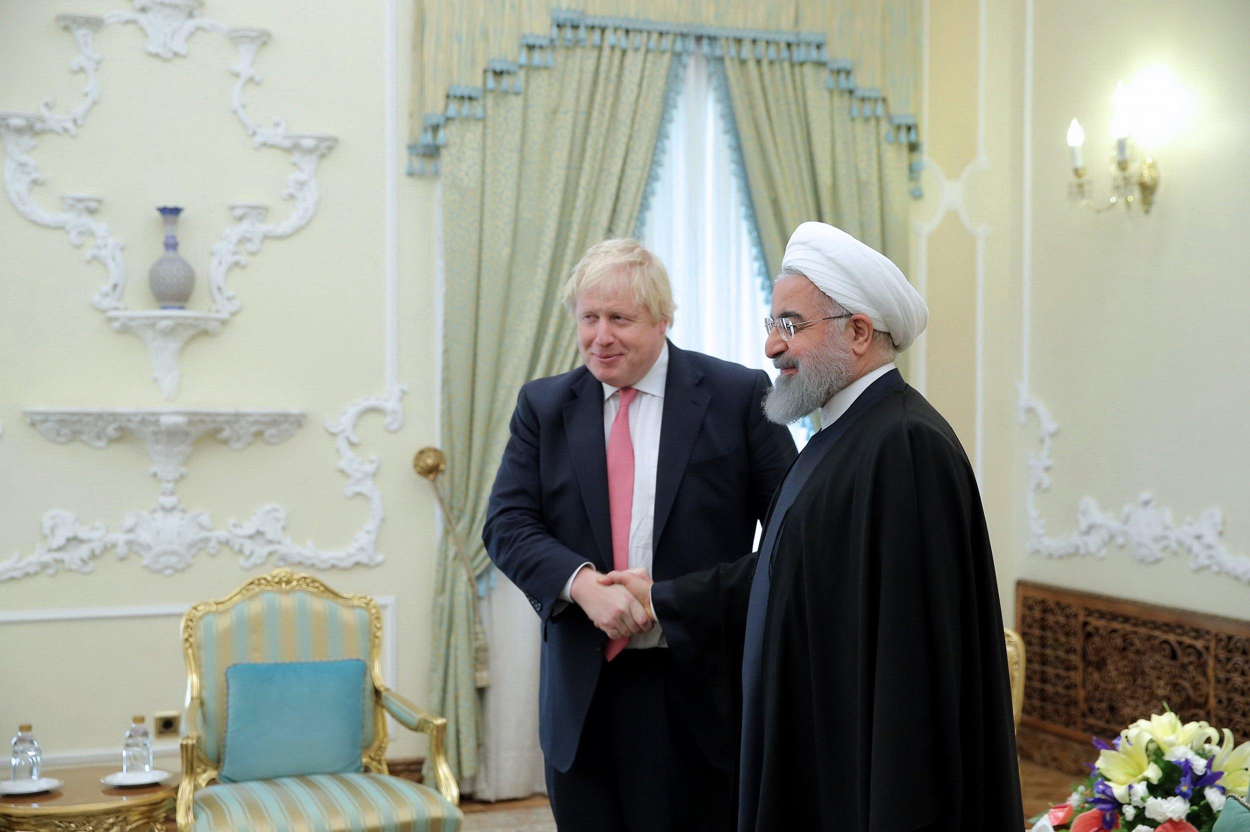 Johnson a Teheran, colloquio con Rohani