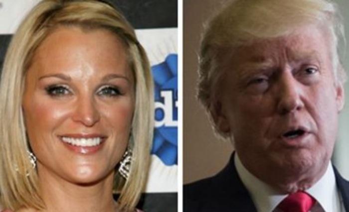 Ex presentatrice Fox: 'Trump tento' di baciarmi'