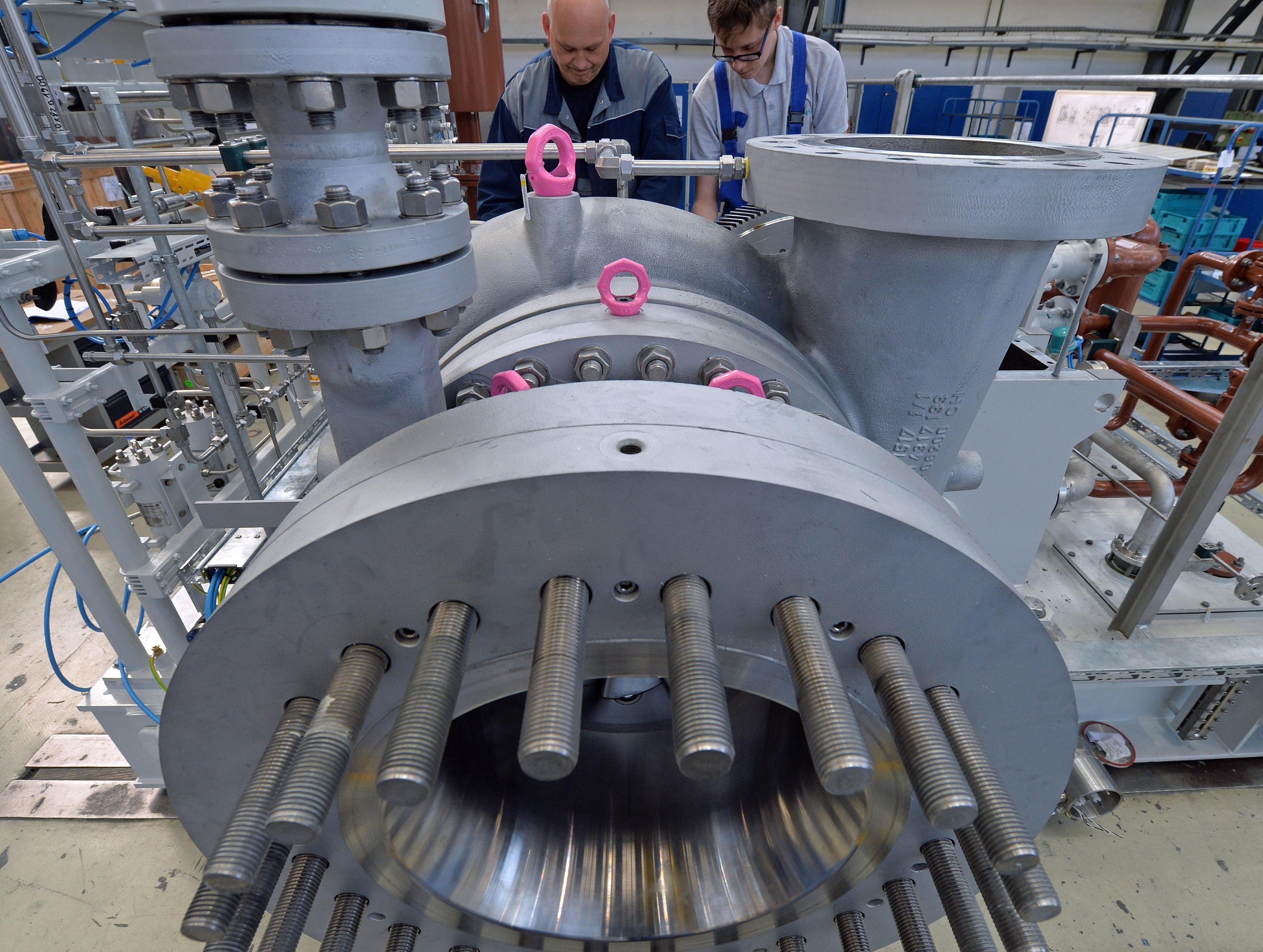 Germania: giù produzione industria -1,4%