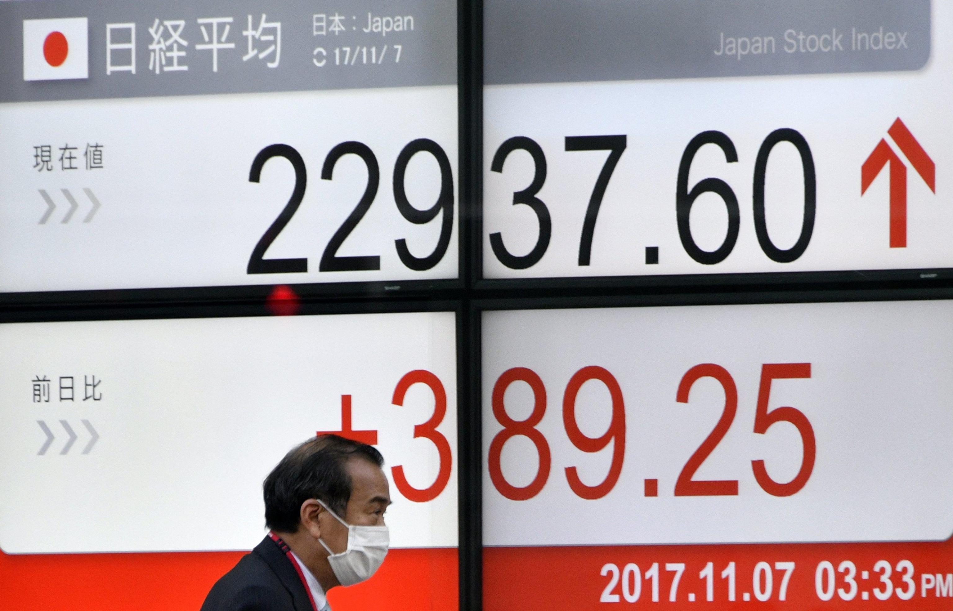 Borsa: Asia in ordine sparso, giù Tokyo