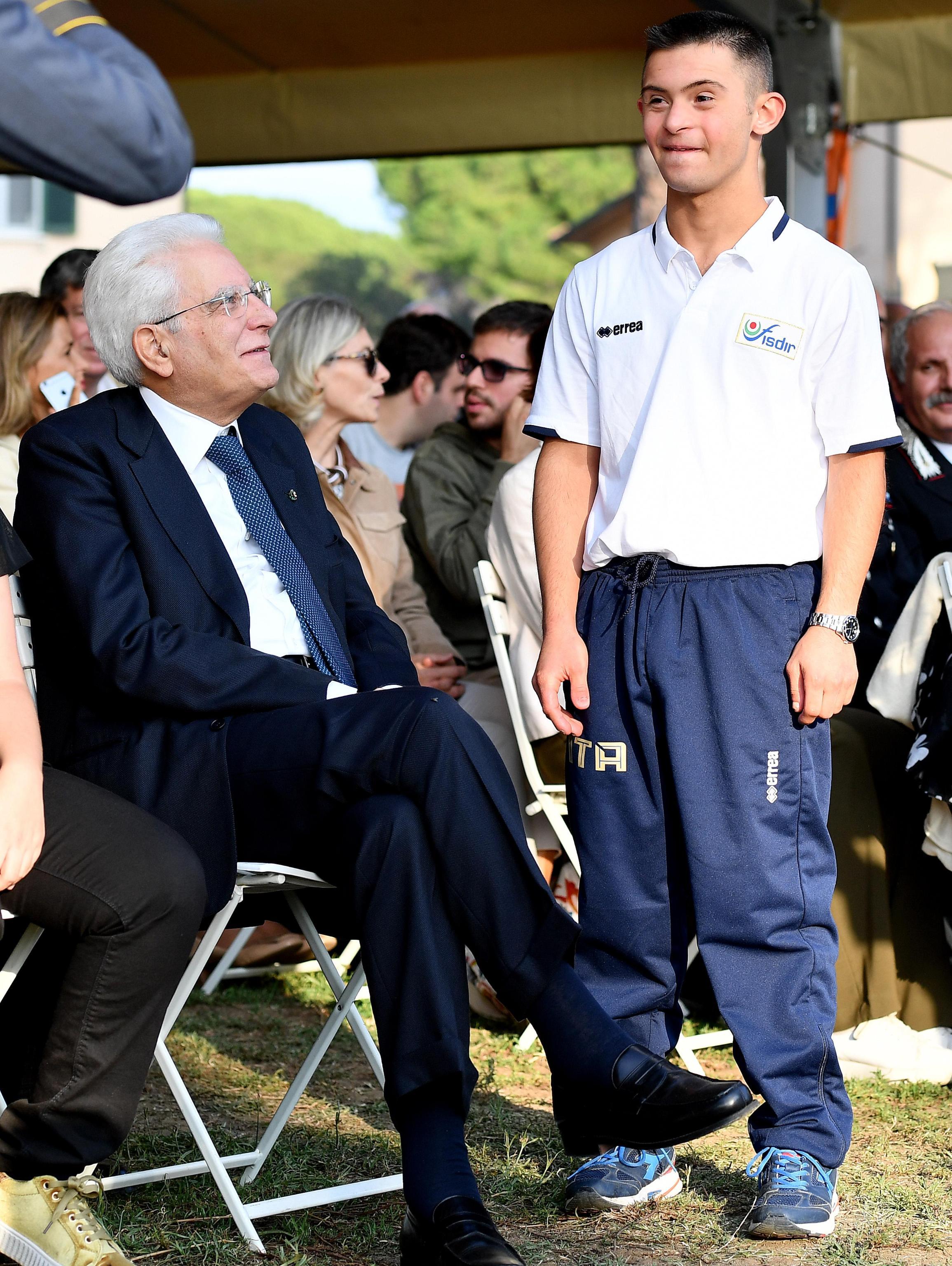 Mattarella, garantire diritti a disabili
