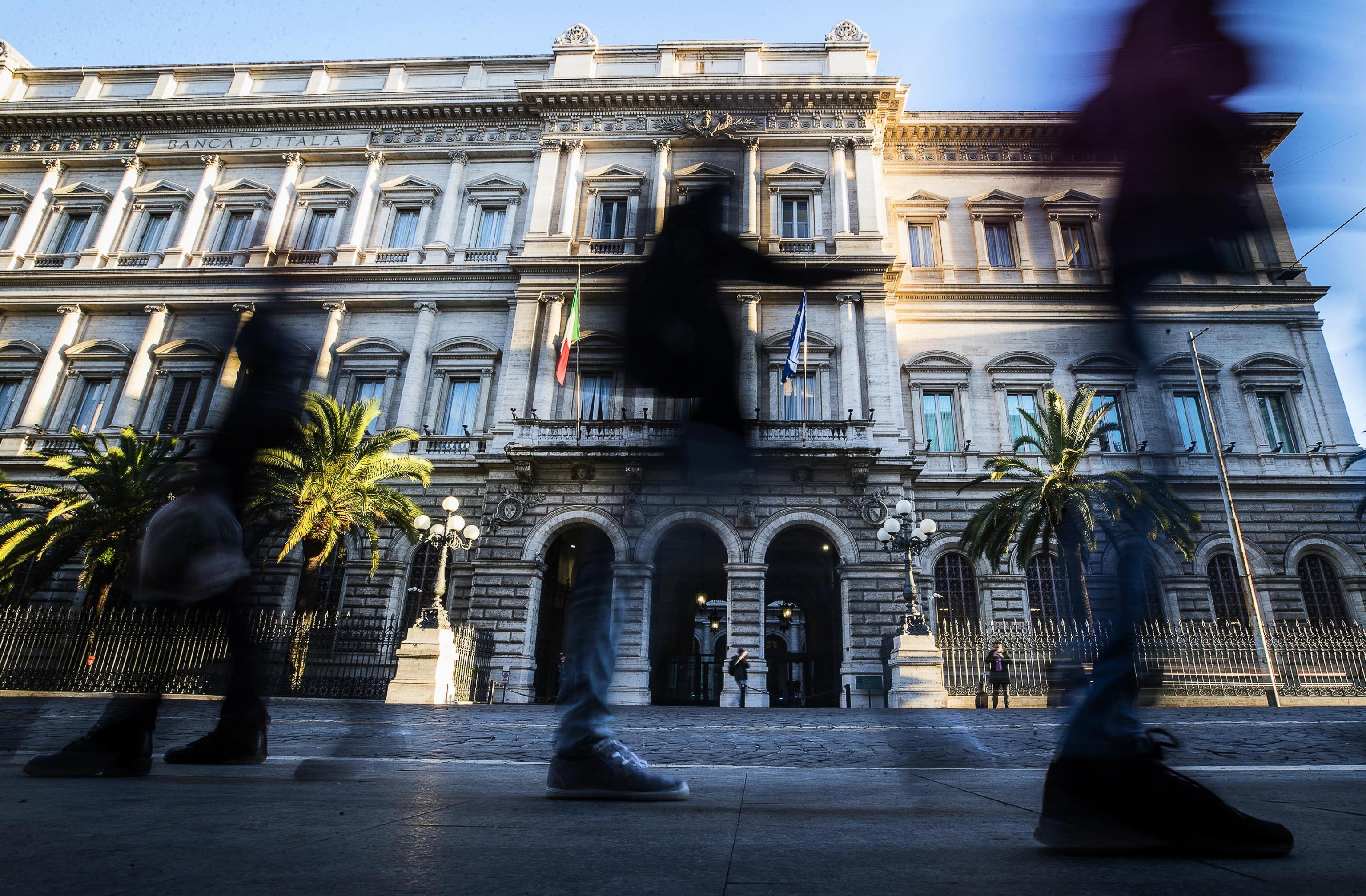 Bankitalia: +1% prestiti banche ottobre