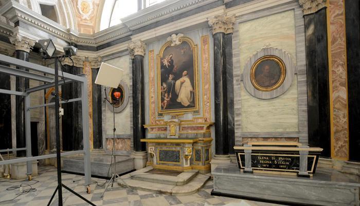 Salma di Vittorio Emanuele III  in arrivo in Italia