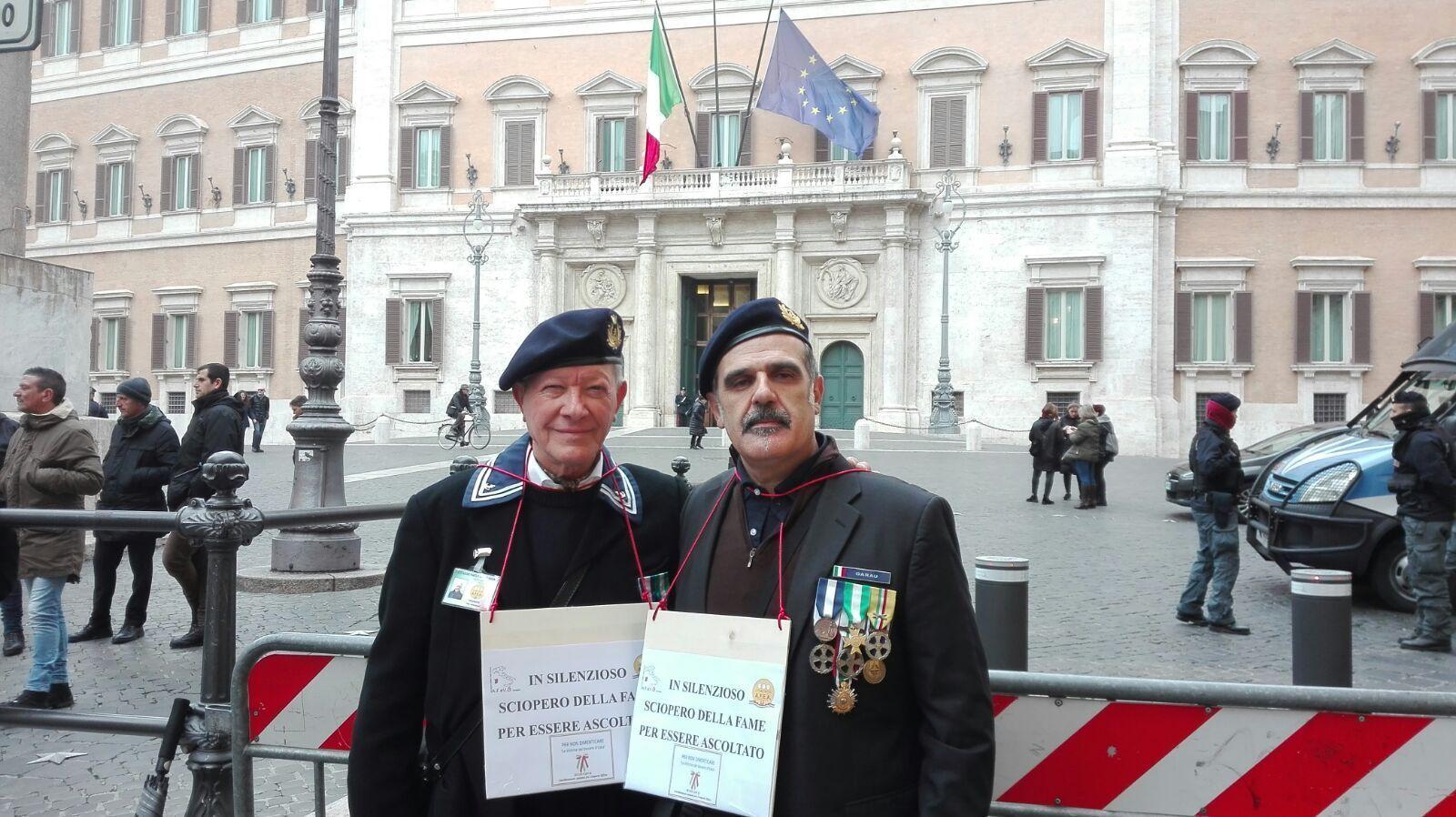 Amianto, sciopero fame a Montecitorio