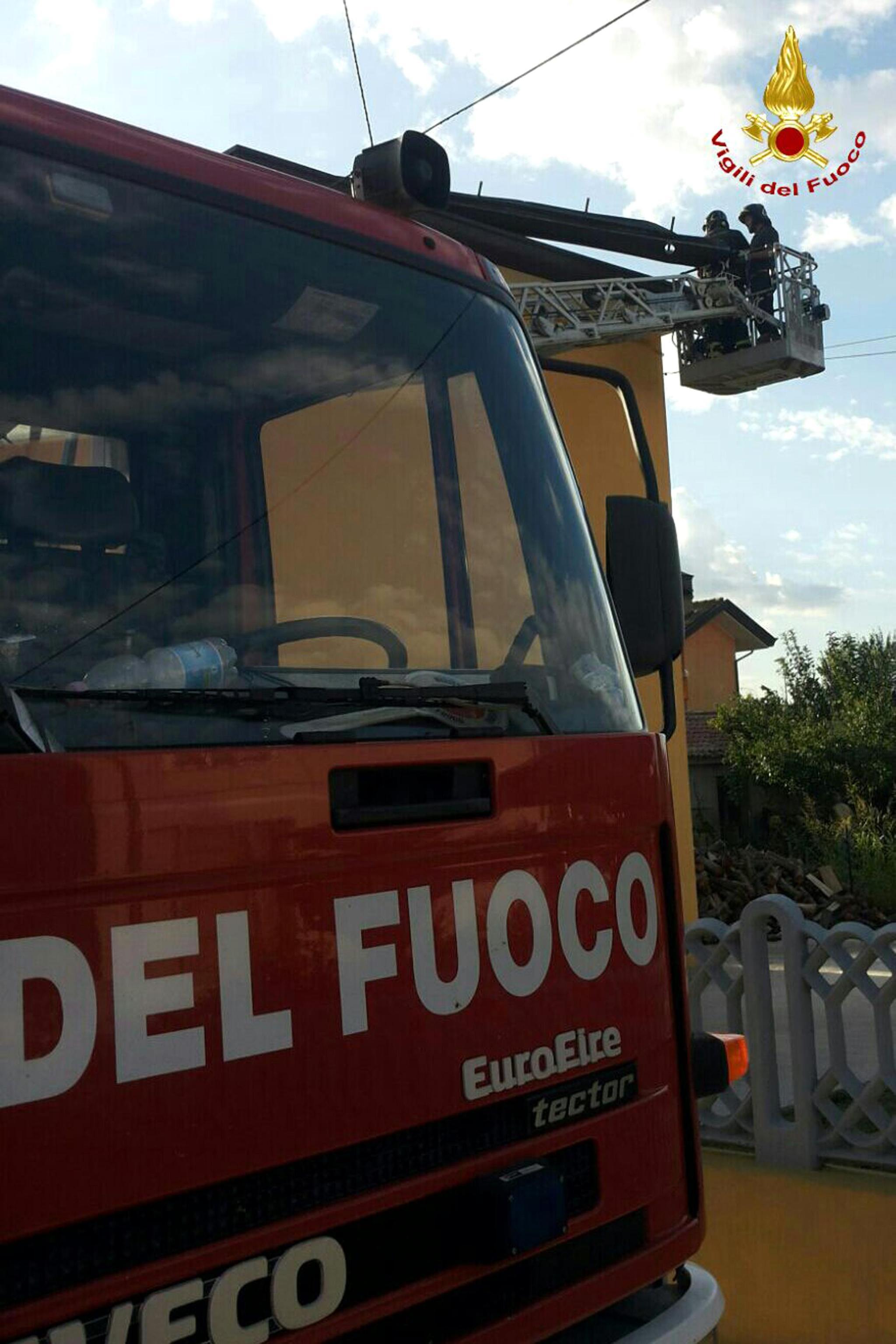Tre operai ustionati nel Torinese
