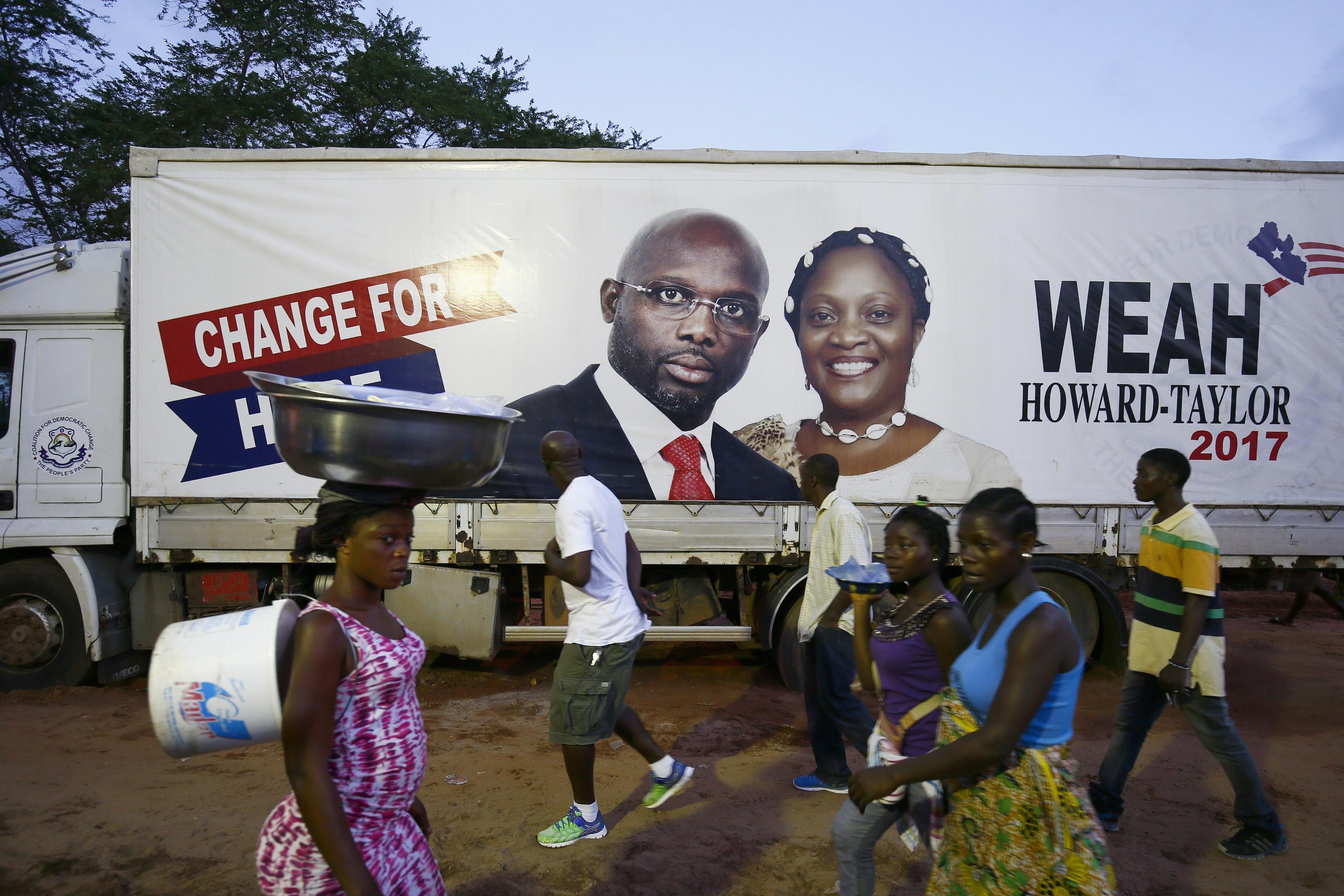Liberia: 26/12 ballottaggio Weah-Boakai