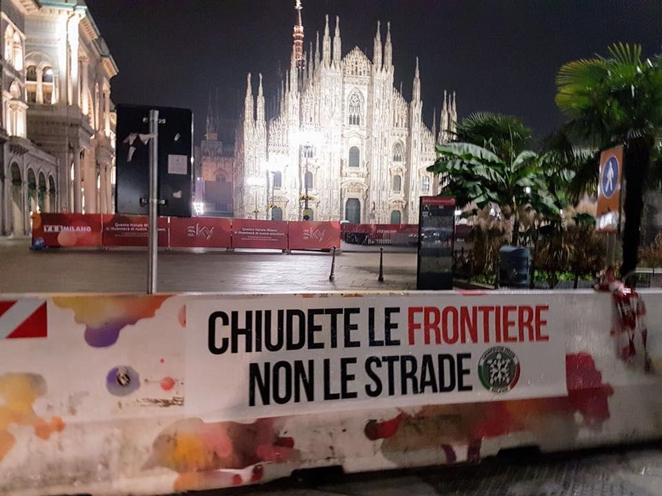Milano:misure sicurezza a Palazzo Marino
