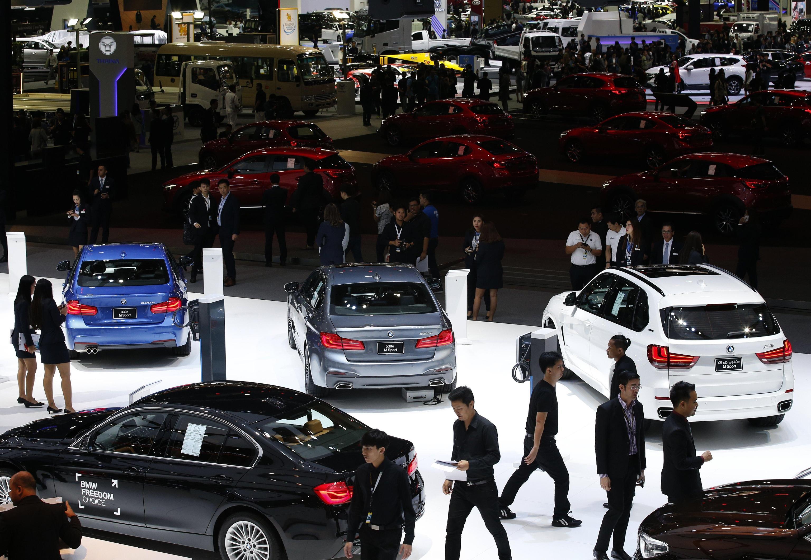 Auto: vendite in Europa +5,8% a novembre