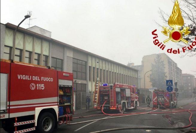 Trovato cadavere in capannone incendiato