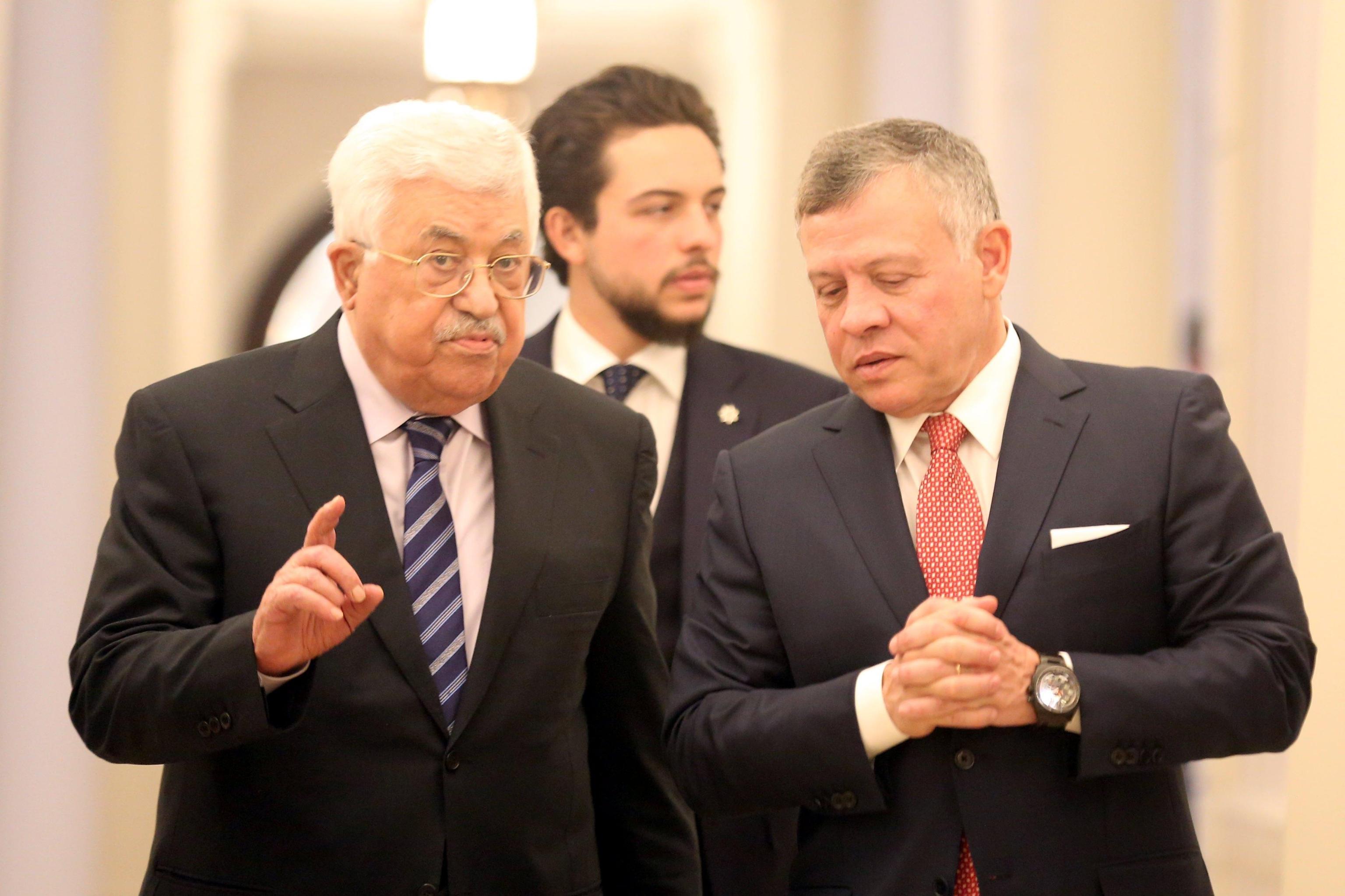 Vertice Abu Mazen-Sisi-Abdallah al Cairo