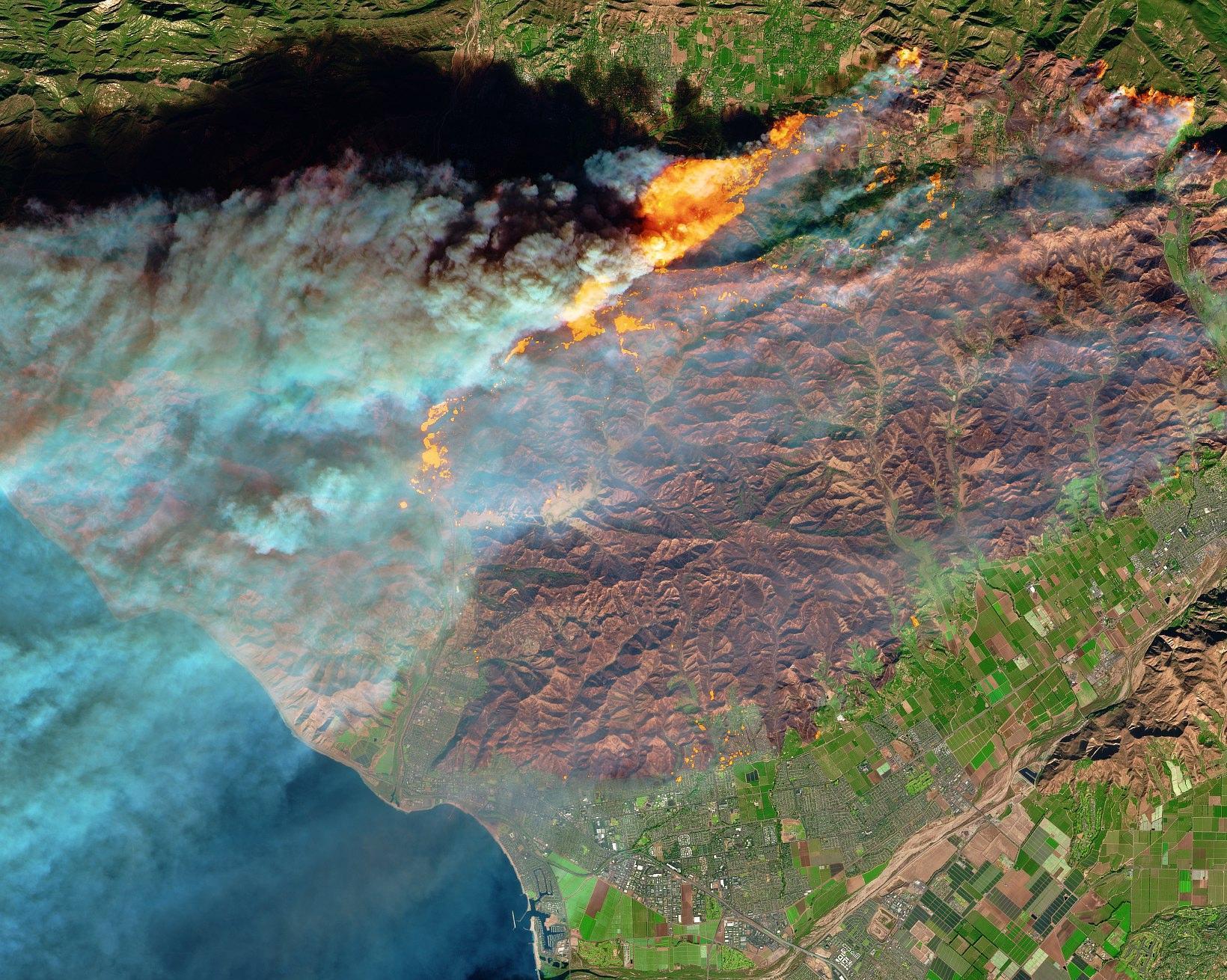 California continua a bruciare